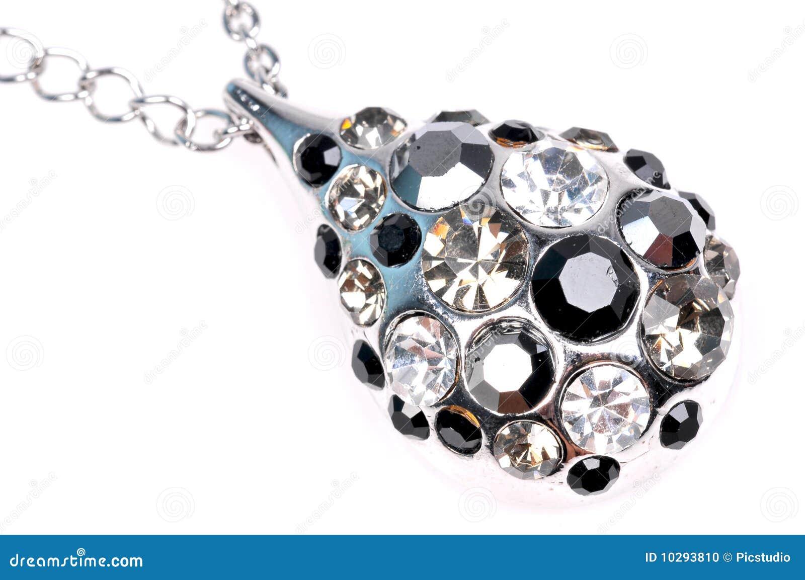 Diamantanhängernahaufnahme