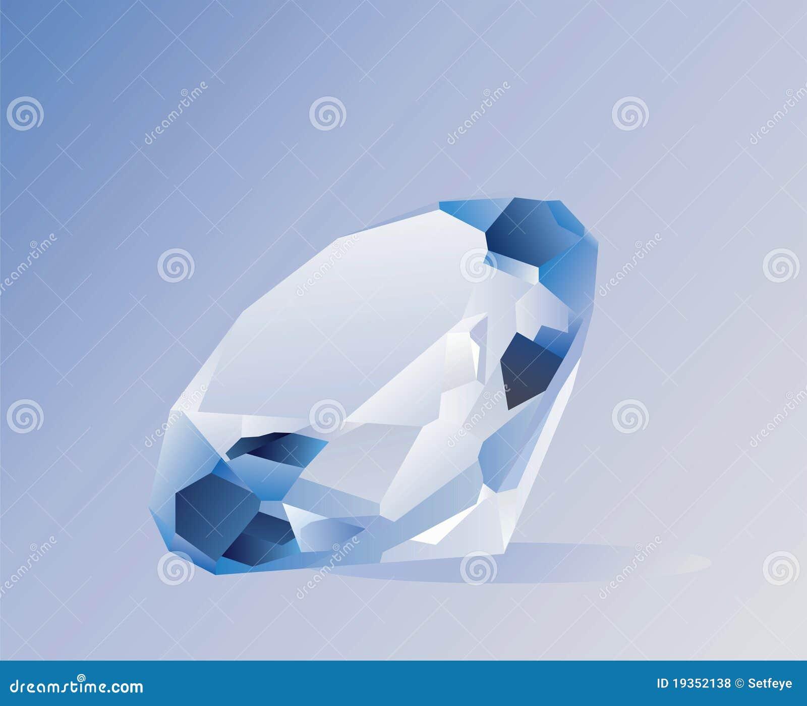 Diamante brilhante brilhante