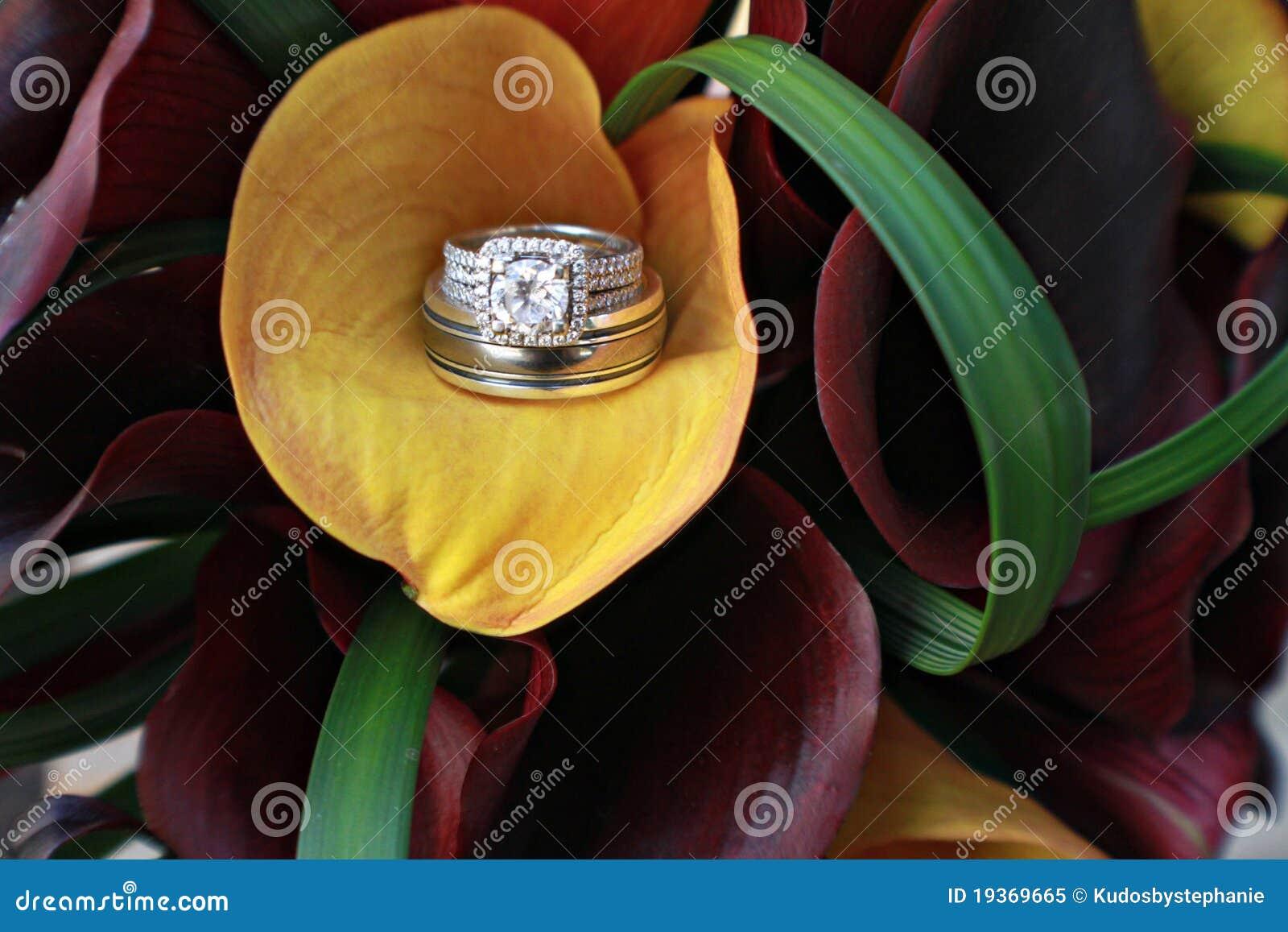 Diamante do lírio de Calla