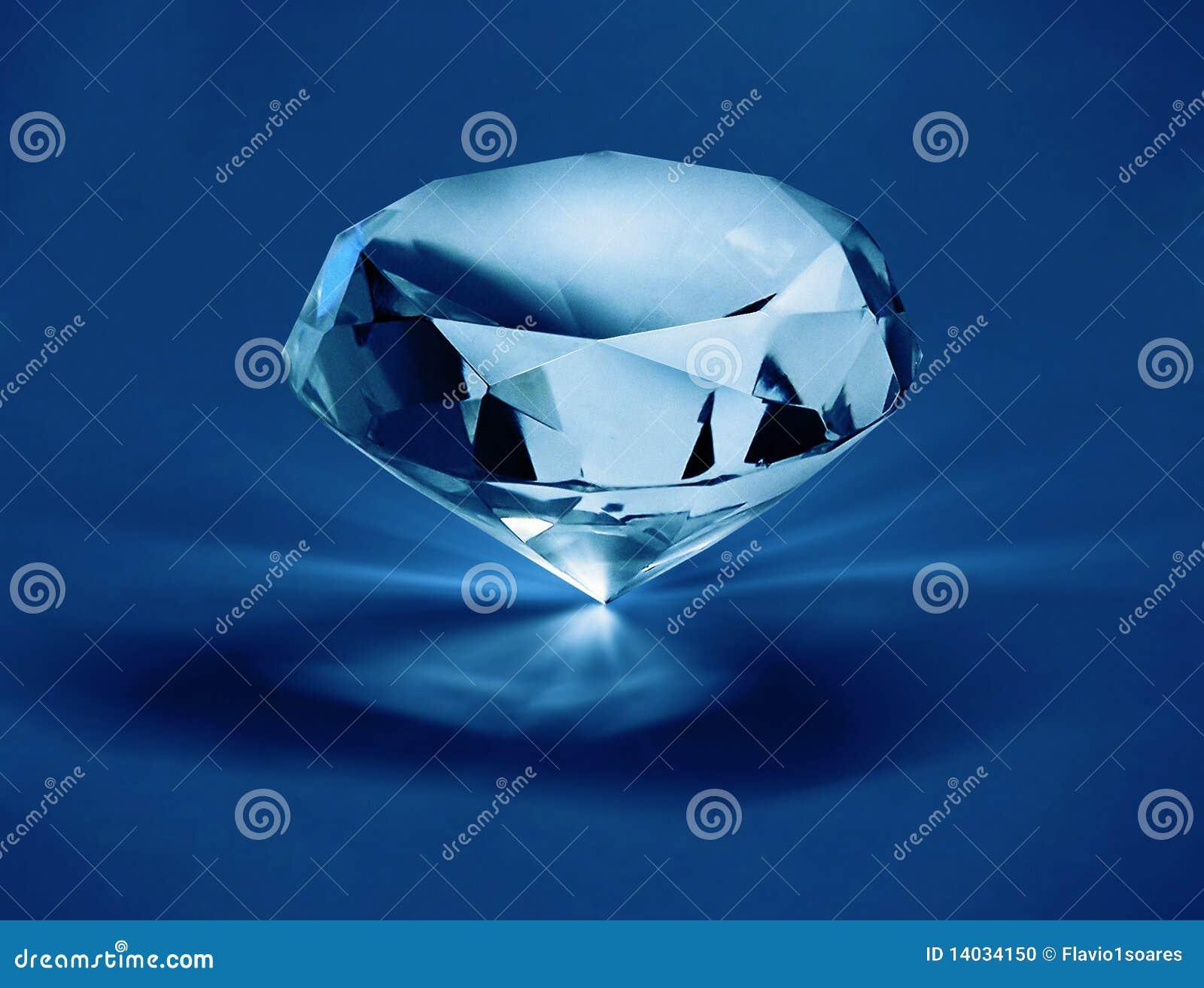 Diamante em f1s azul