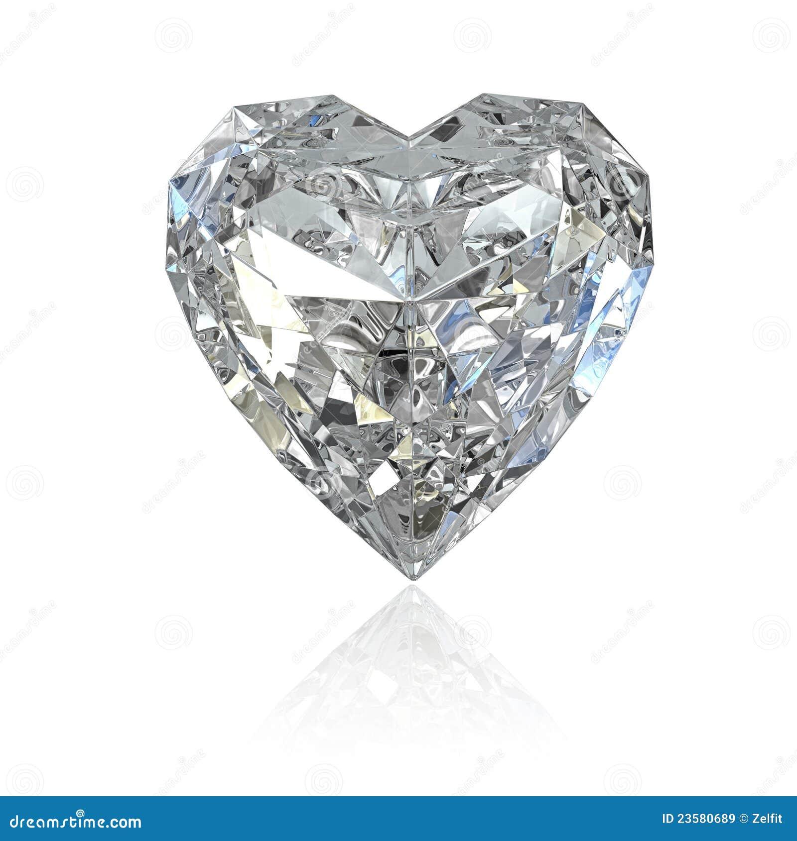 Diamante a forma di del cuore illustrazione di stock for Soggiorno a forma di diamante