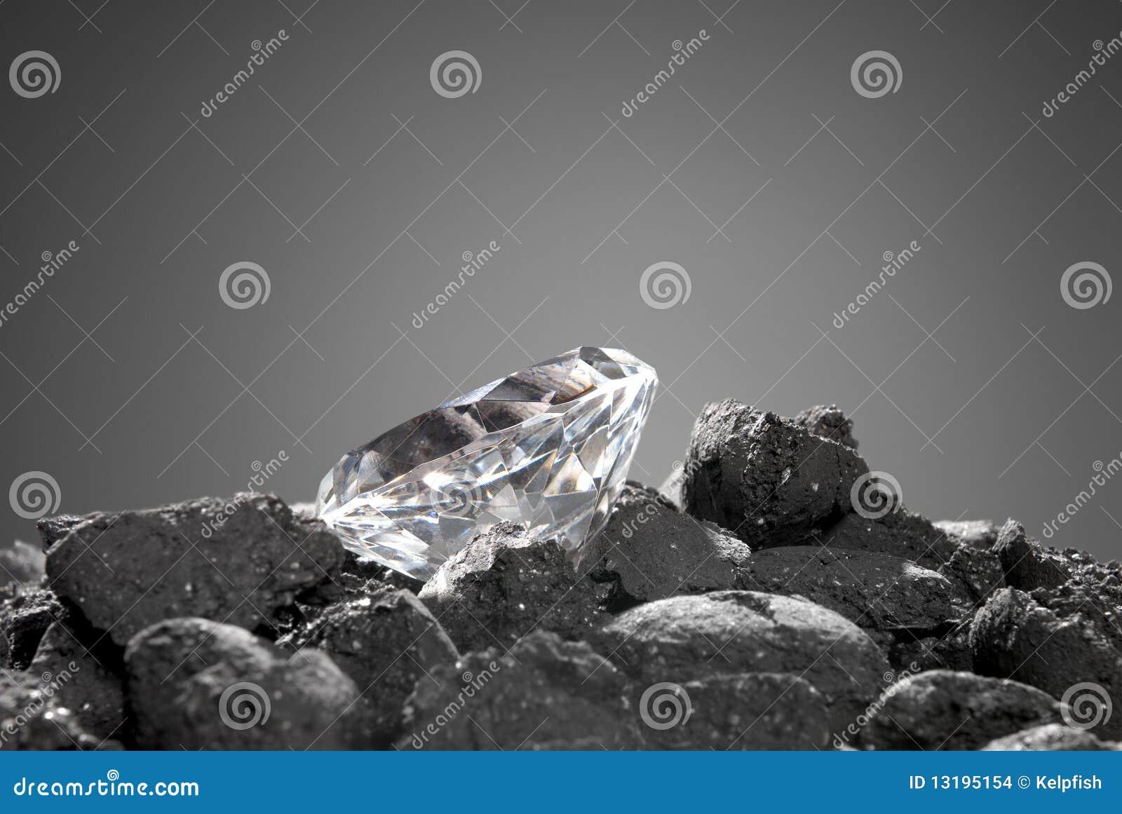 Diamante no áspero