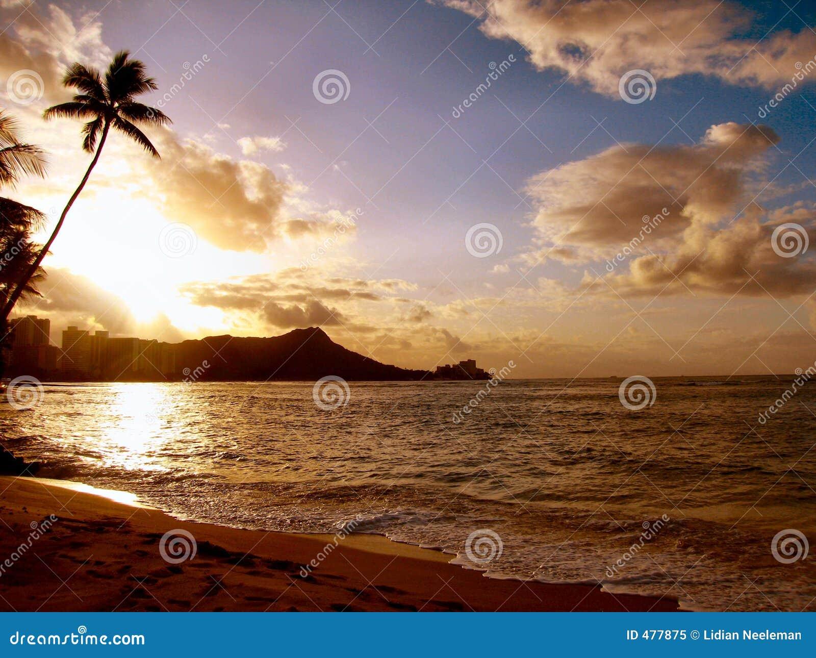 Diamante pista-Hawaii