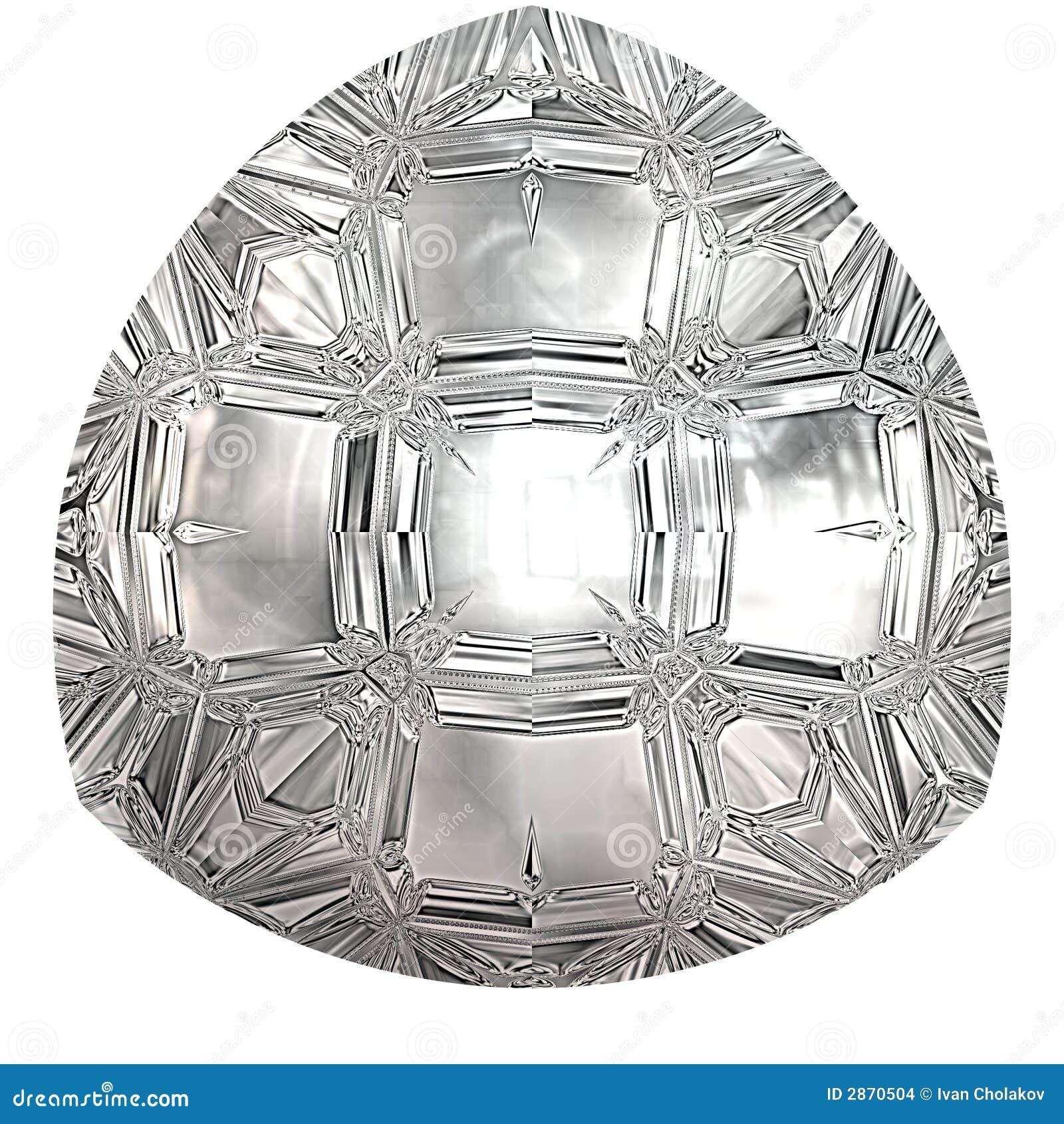 Diamante rendido