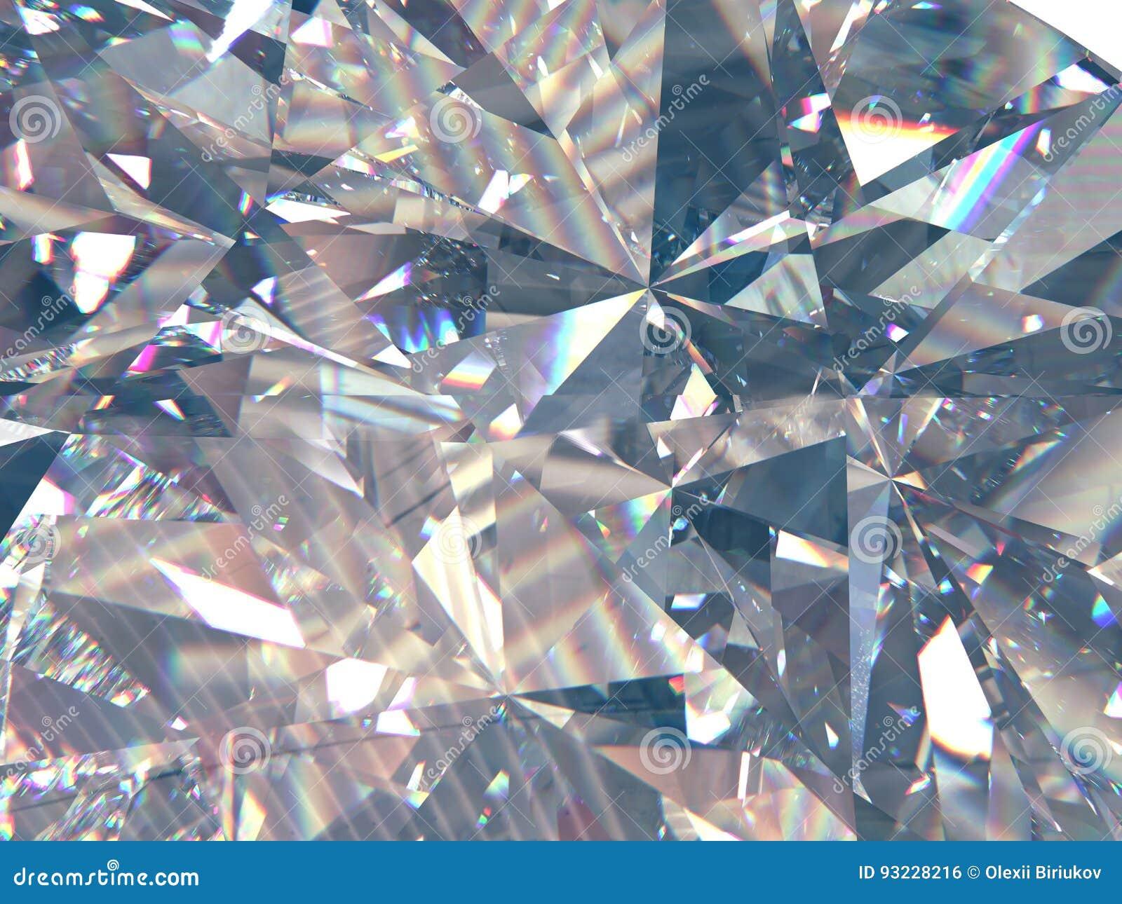 Diamanten eller kristallen för i lager textur formar den triangulära bakgrund modell för tolkning 3d