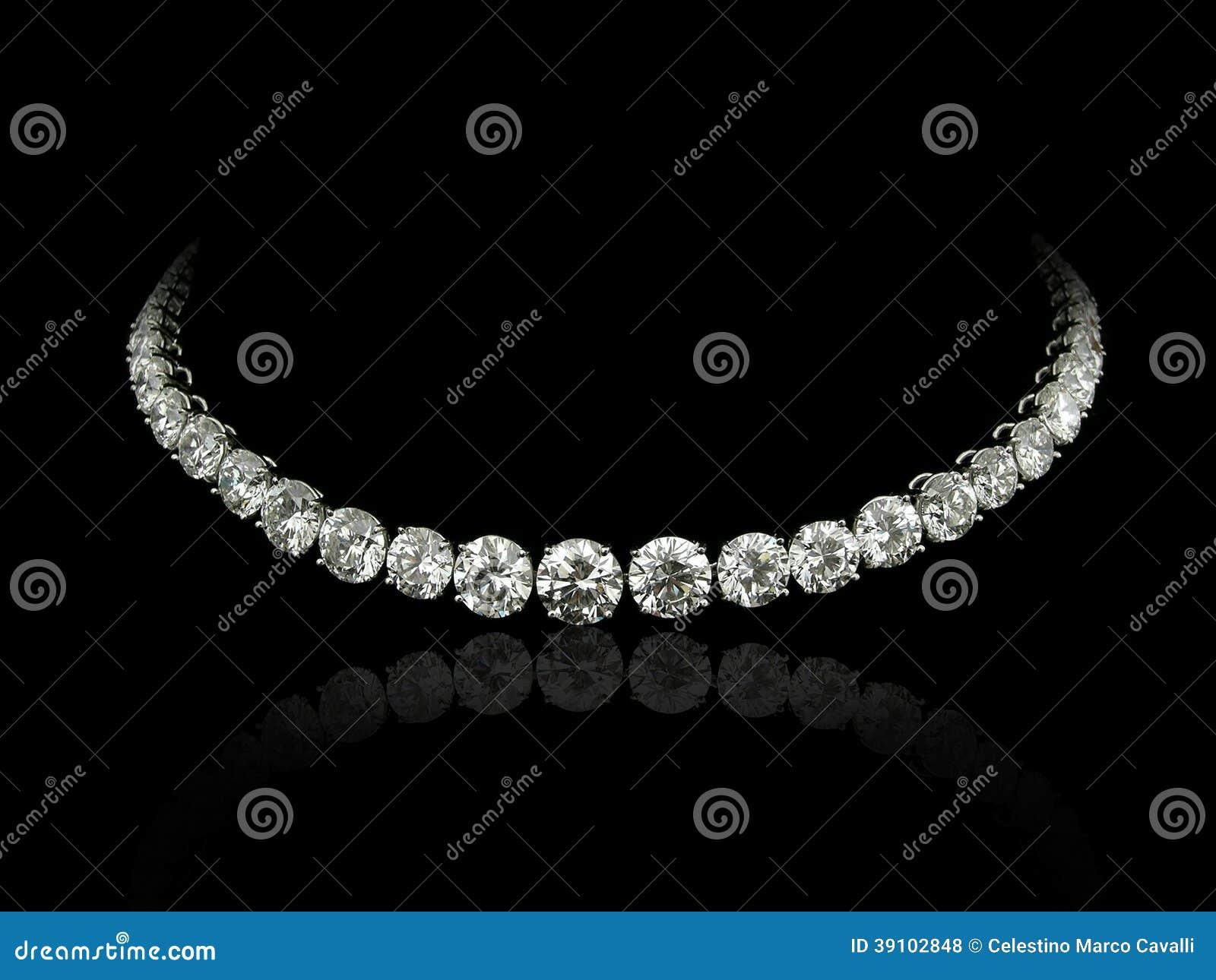 Diamantenhalsband
