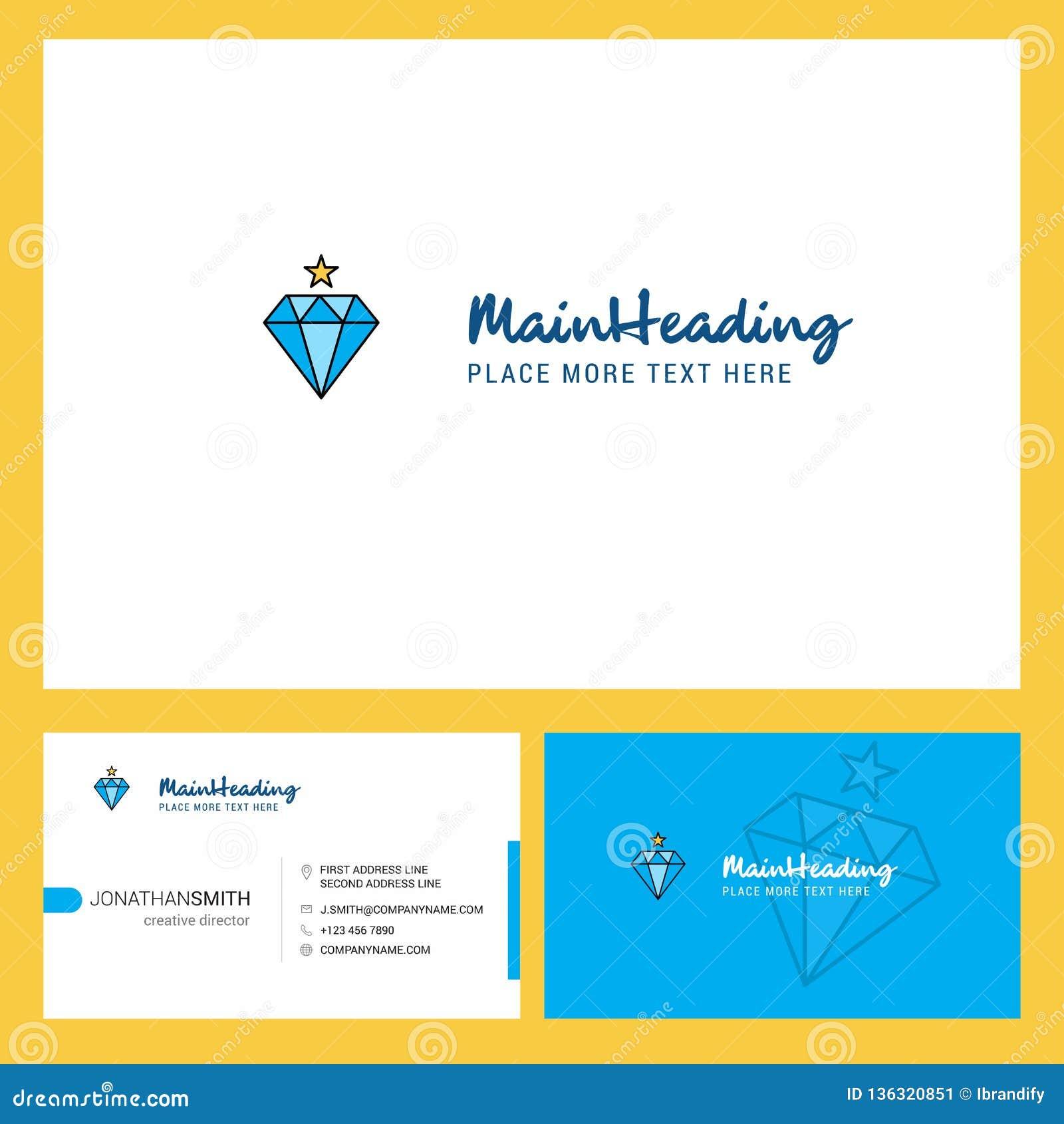Diamentowy logo projekt z, Tylny Busienss i Gręplujemy szablon Wektorowy kreatywnie projekt