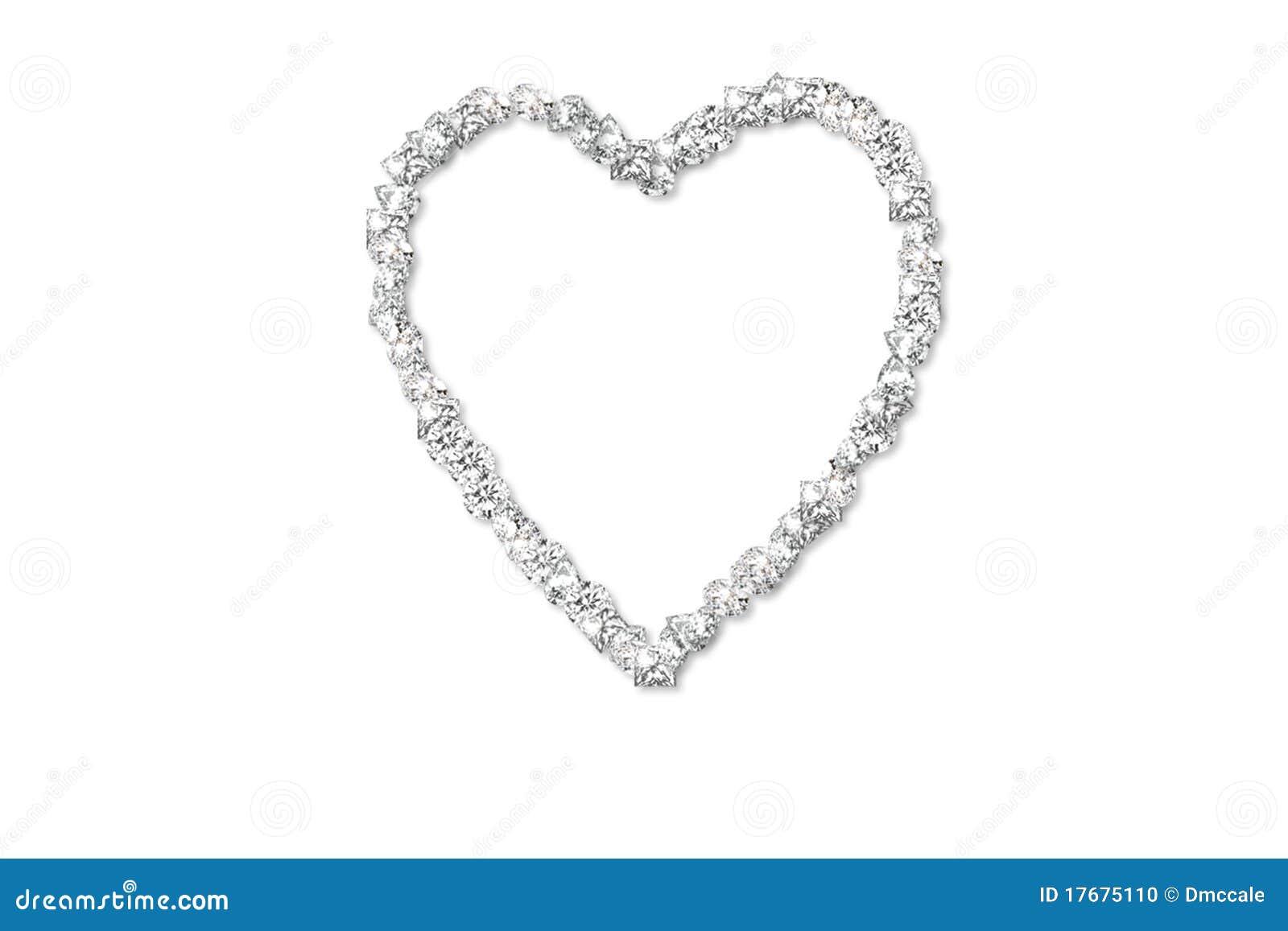 Diamentowy serce