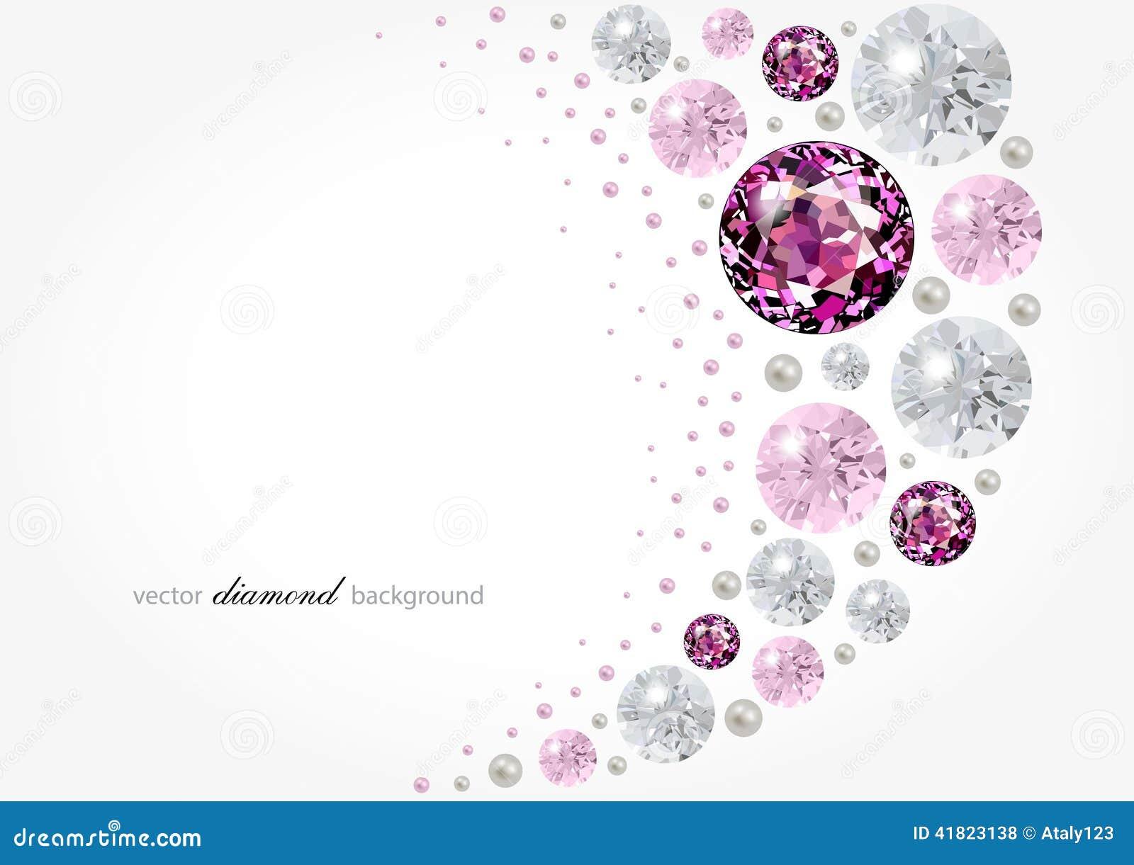 diamond background stock vector illustration of wallpaper 41823138