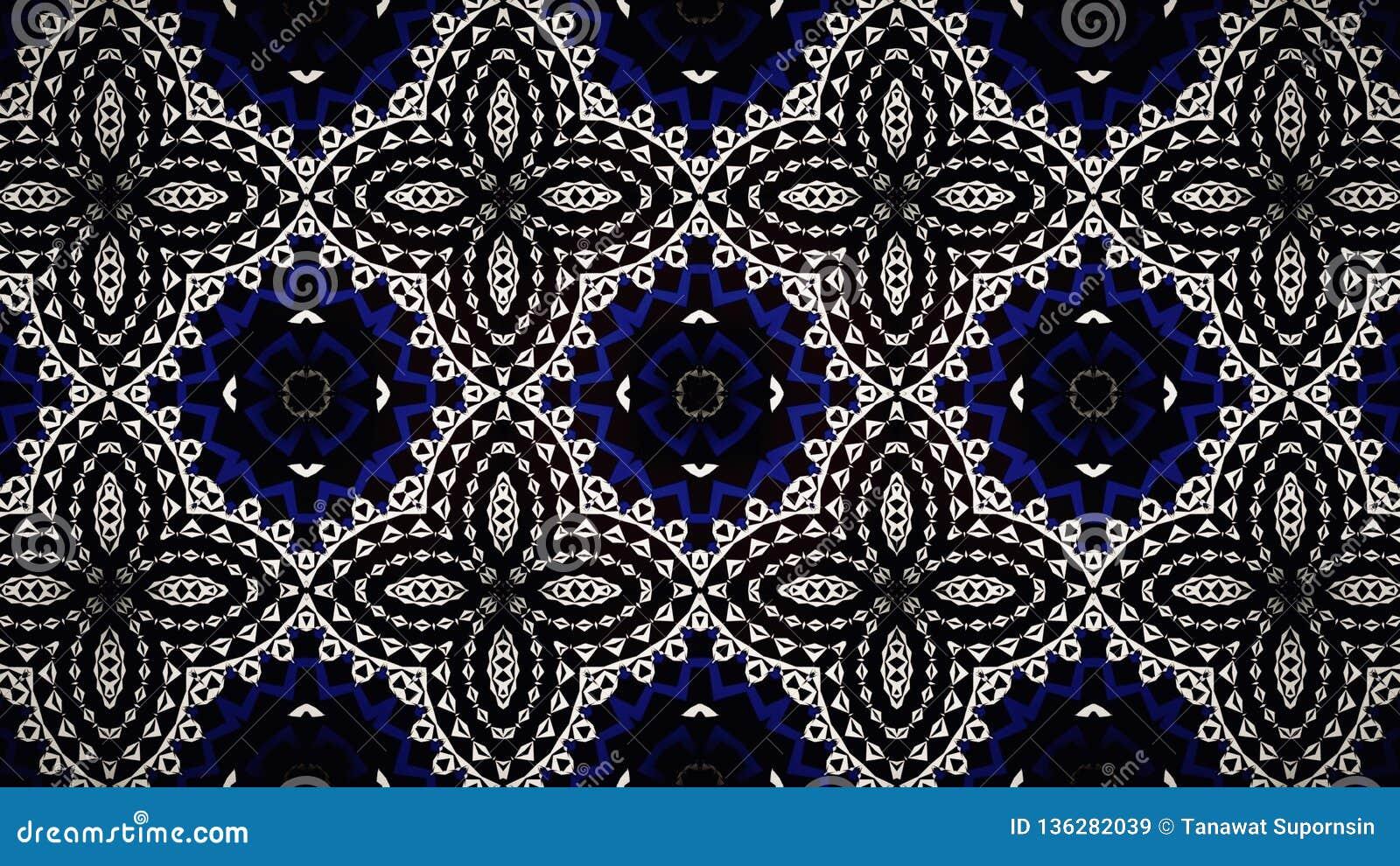 Diamond Blue White Black Pattern Luxury Accessories Jewelry