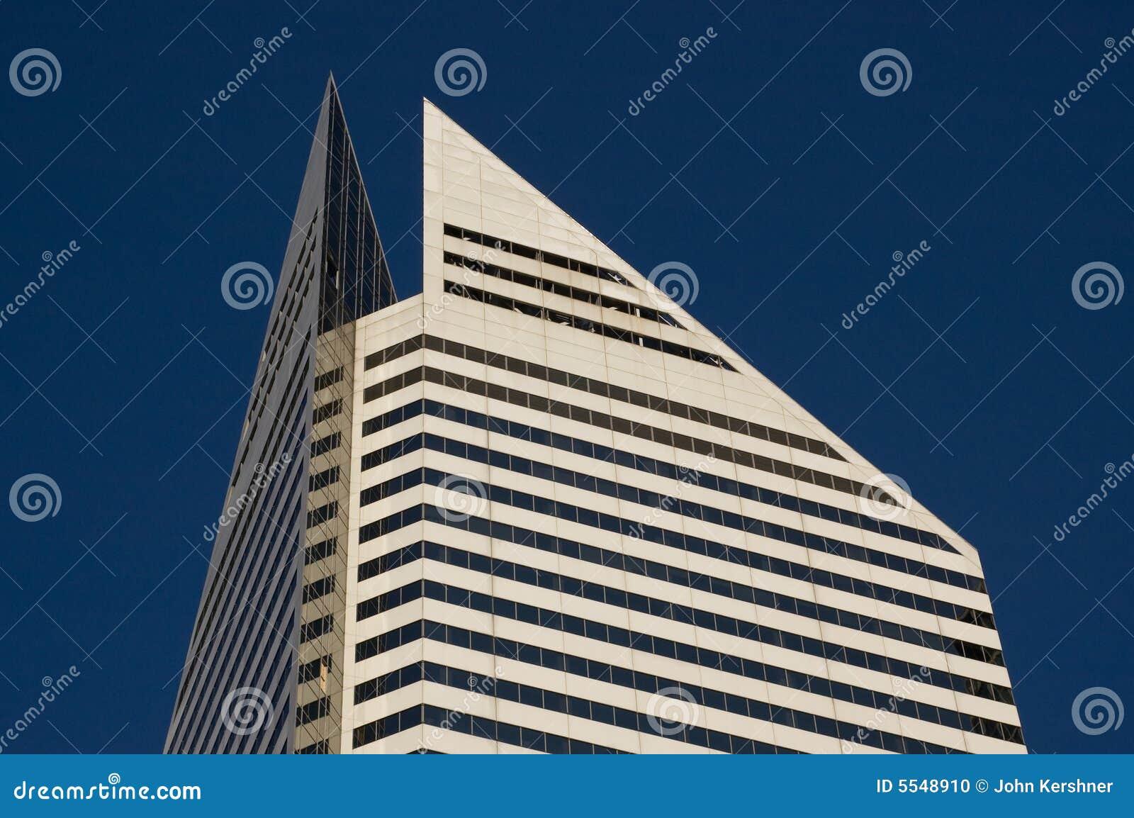 Diamond Building Stock Photo Image 5548910