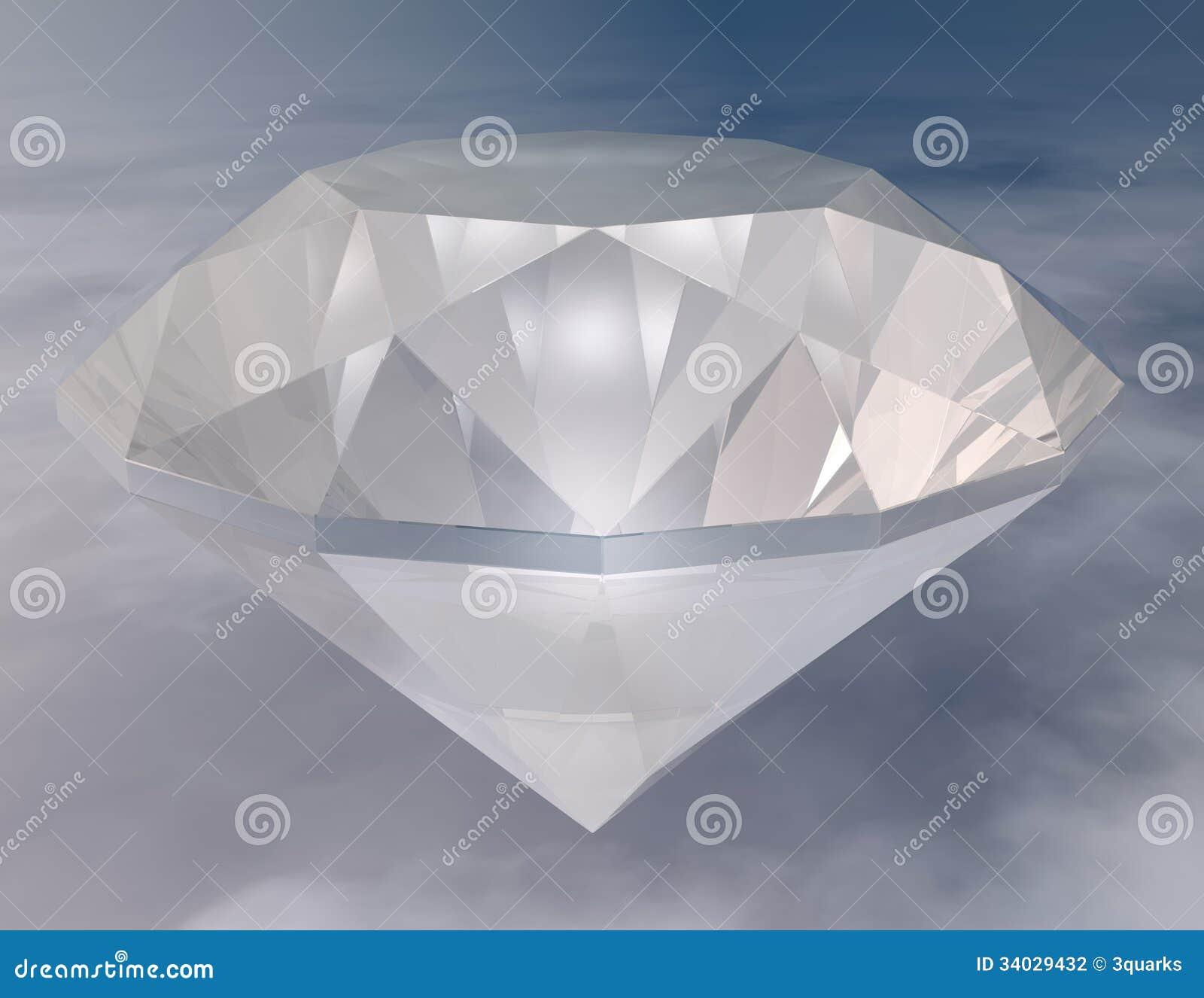 Download Diamond stock illustration. Illustration of photorealistic - 34029432