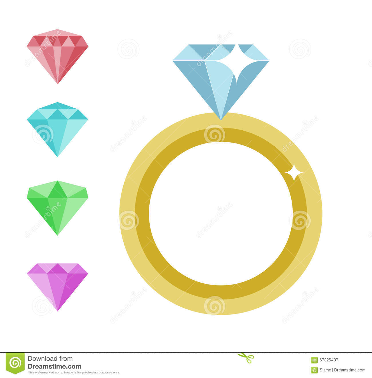 diamond ring vector icon - photo #49