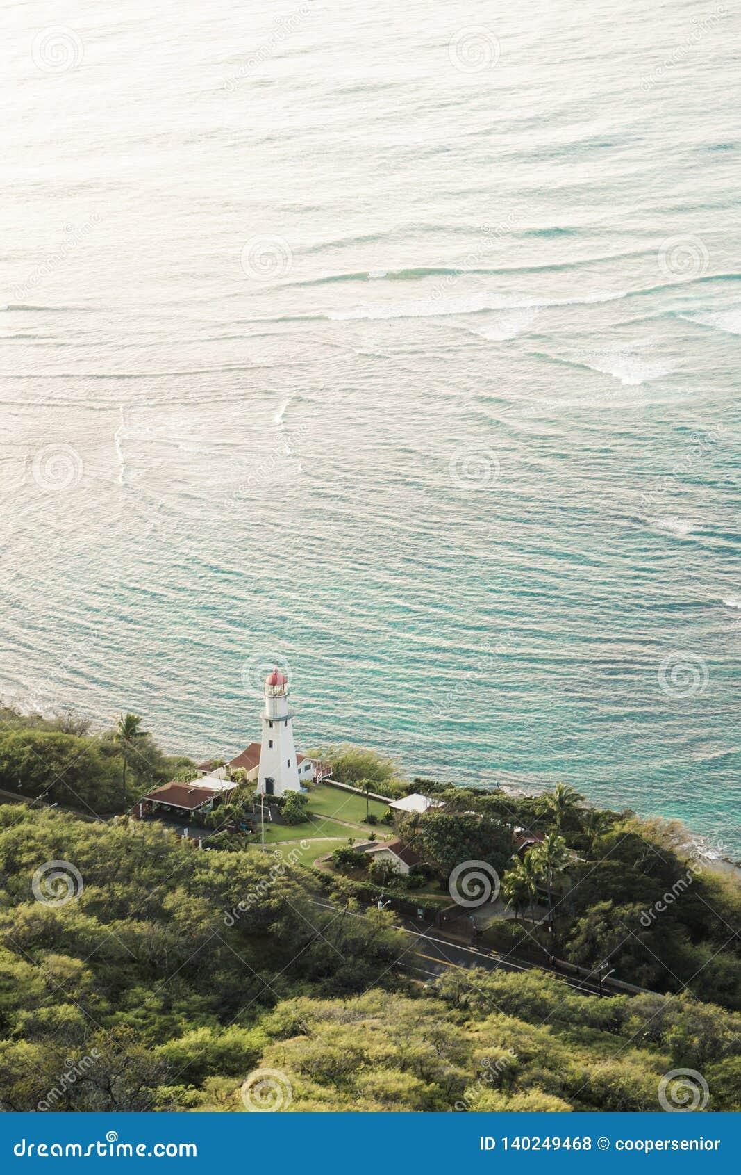 Diamond Head Lighthouse Honolulu Hawaii