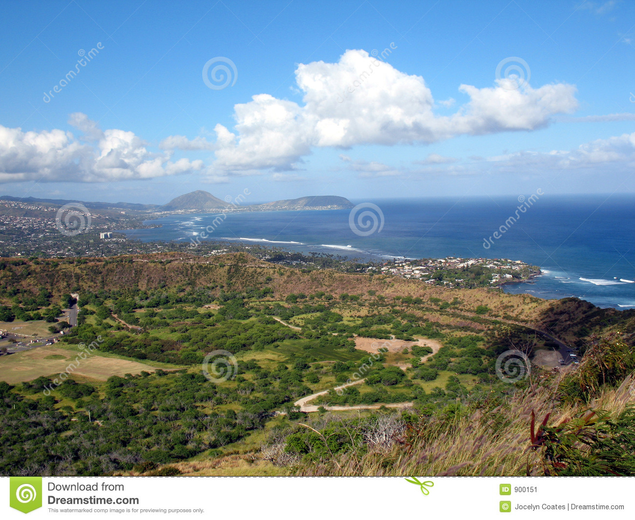 view from diamond head - photo #17