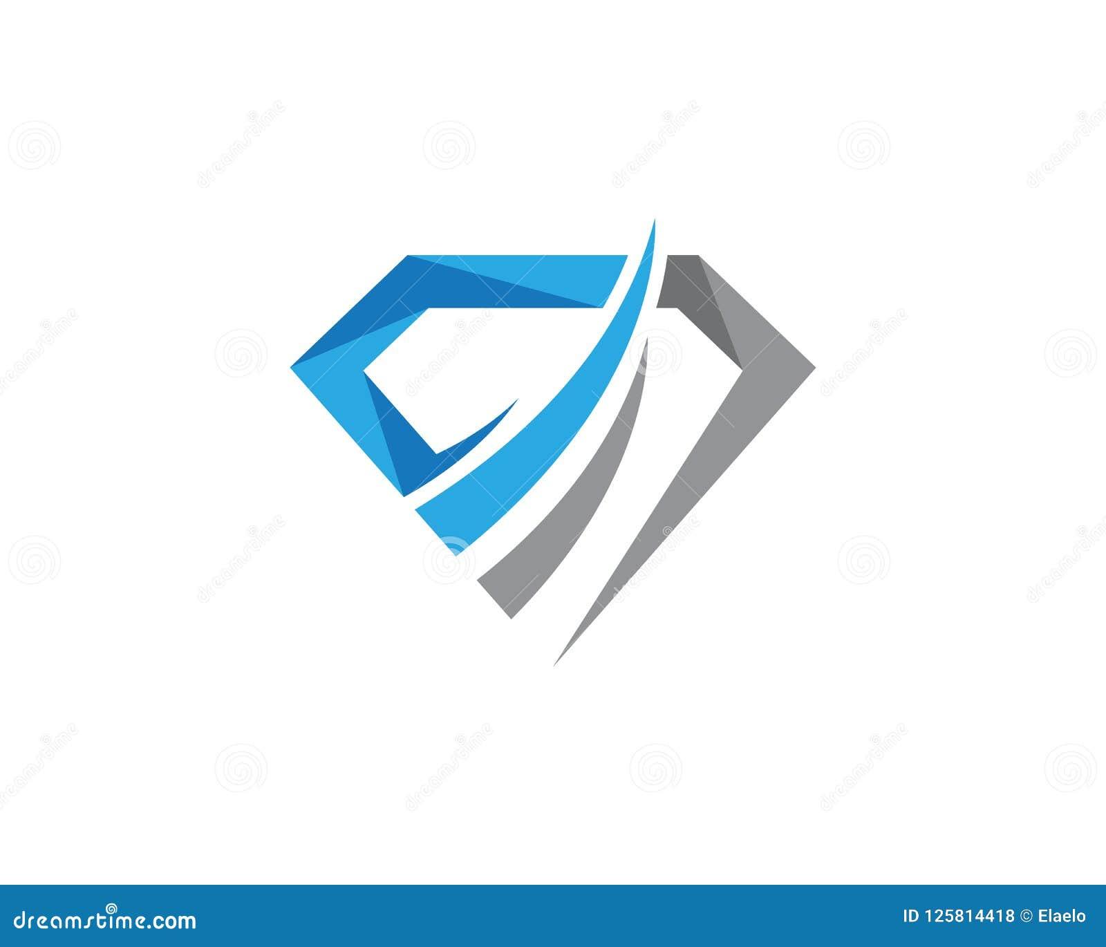 Fashion Luxury Jewelry Logo Icon Linear Style: Steel