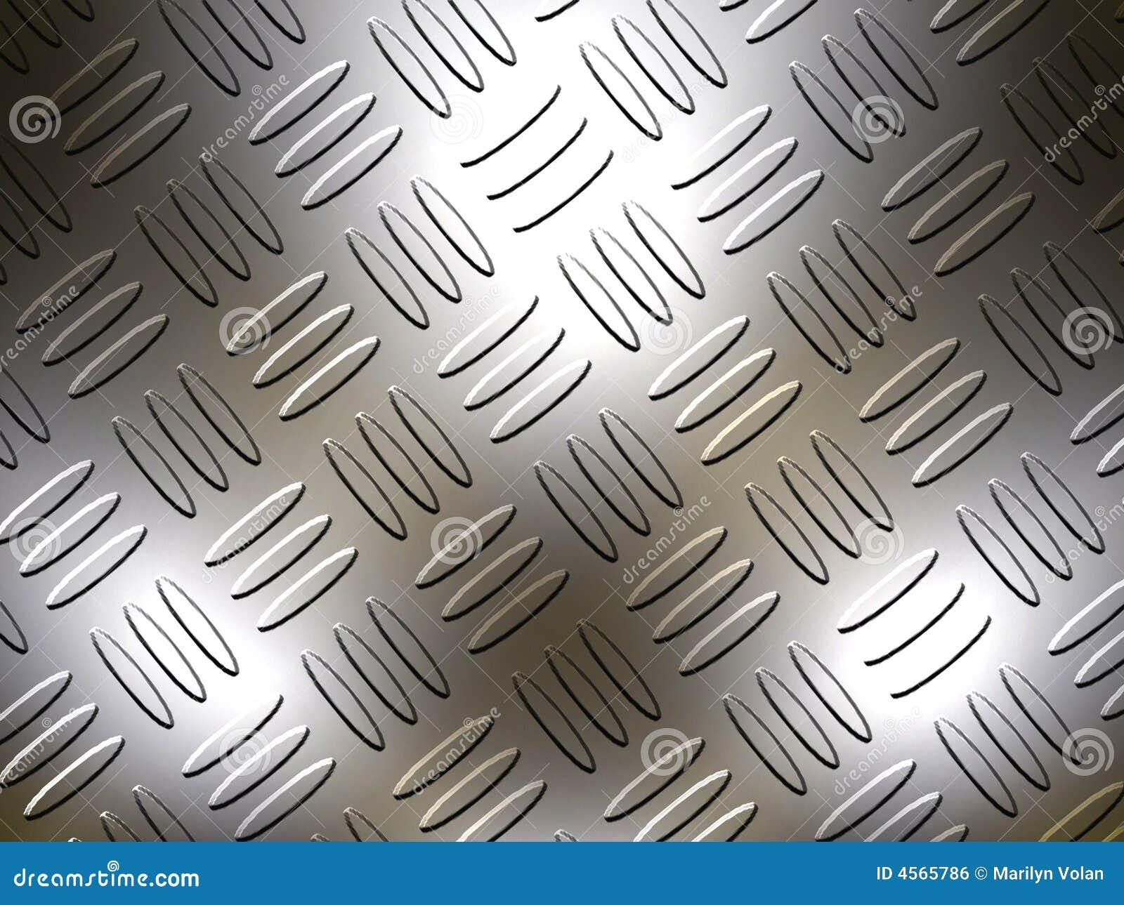 Diamond Metal Plate Stock Photo Image Of Criss