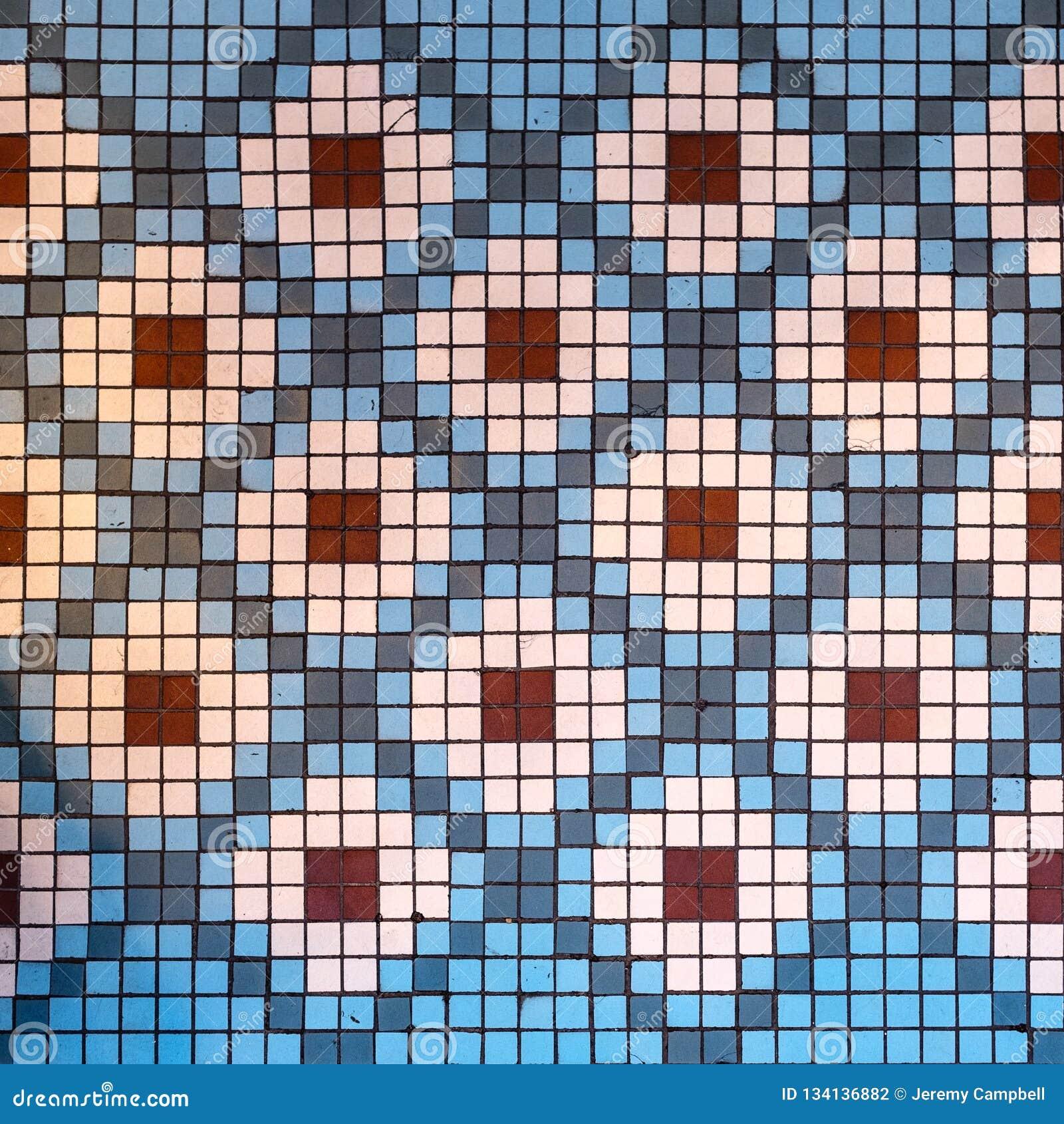 Diamond Mosaic Pattern