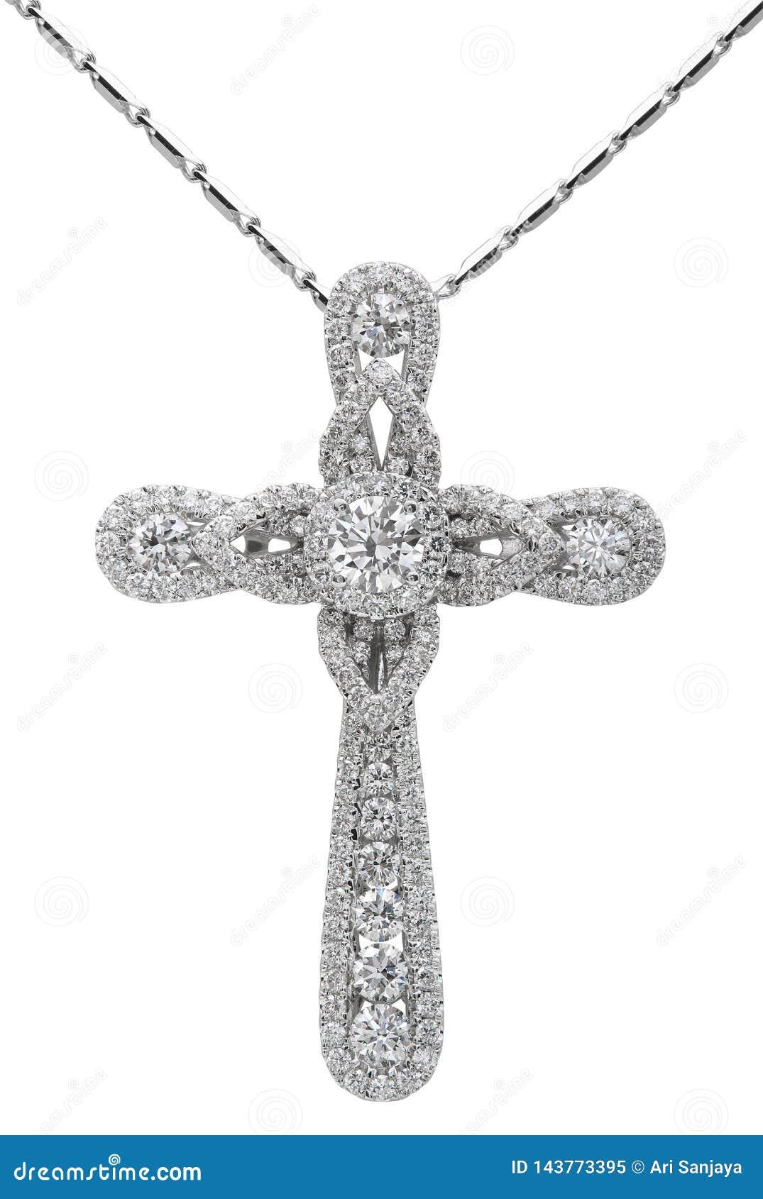 Diamond Necklace no branco