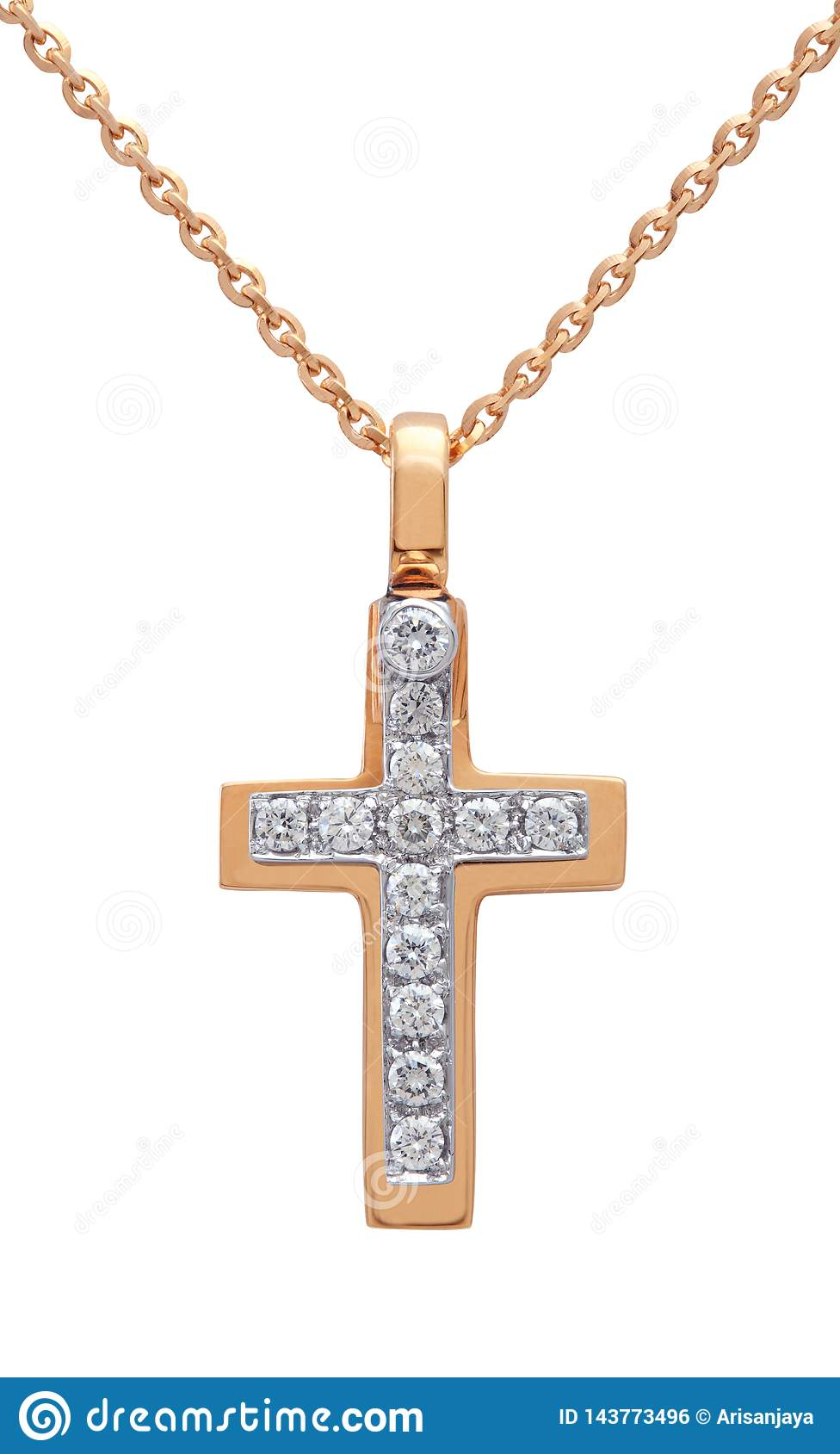 Diamond Necklace no branco