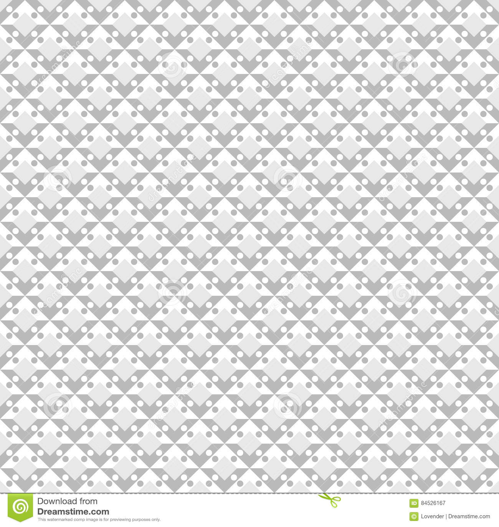Diamond Pattern abstrato Vetor sem emenda