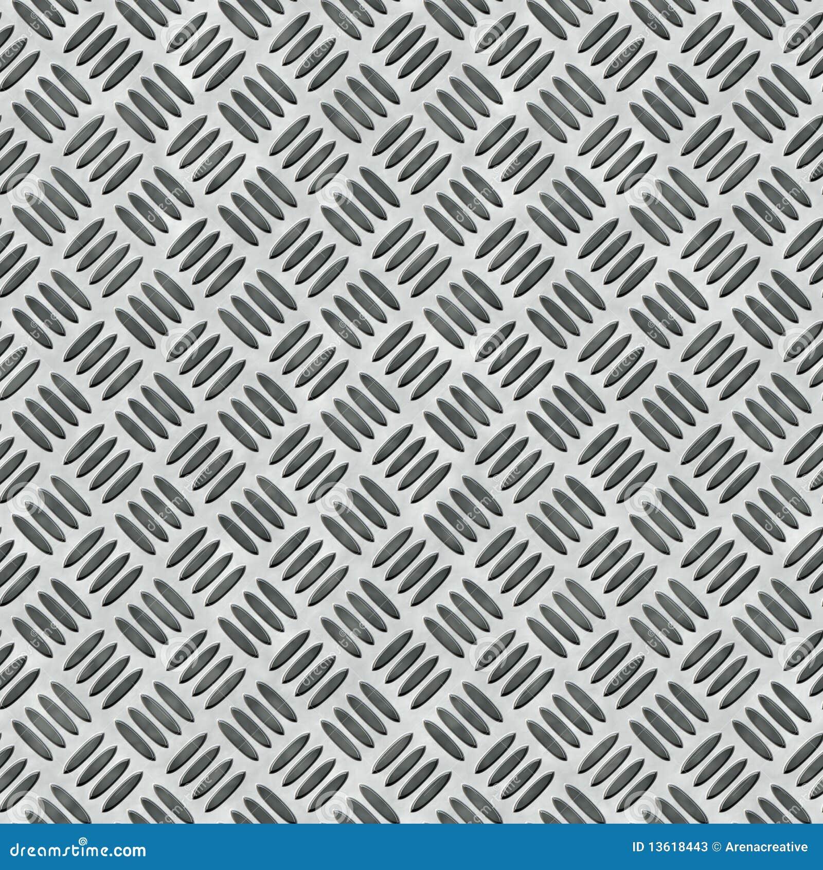 Diamond Plate Bumped Metal Stock Photos Image 13618443