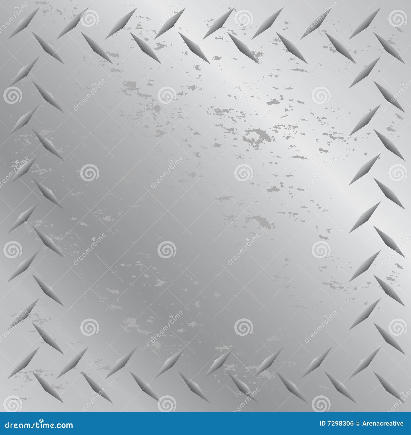 diamond plate metallic border - photo #49