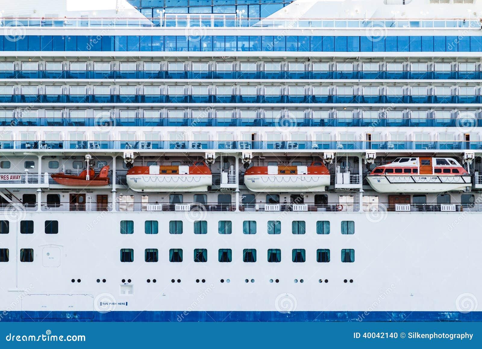 Diamond Princess Luxury Cruise Liner Editorial Image