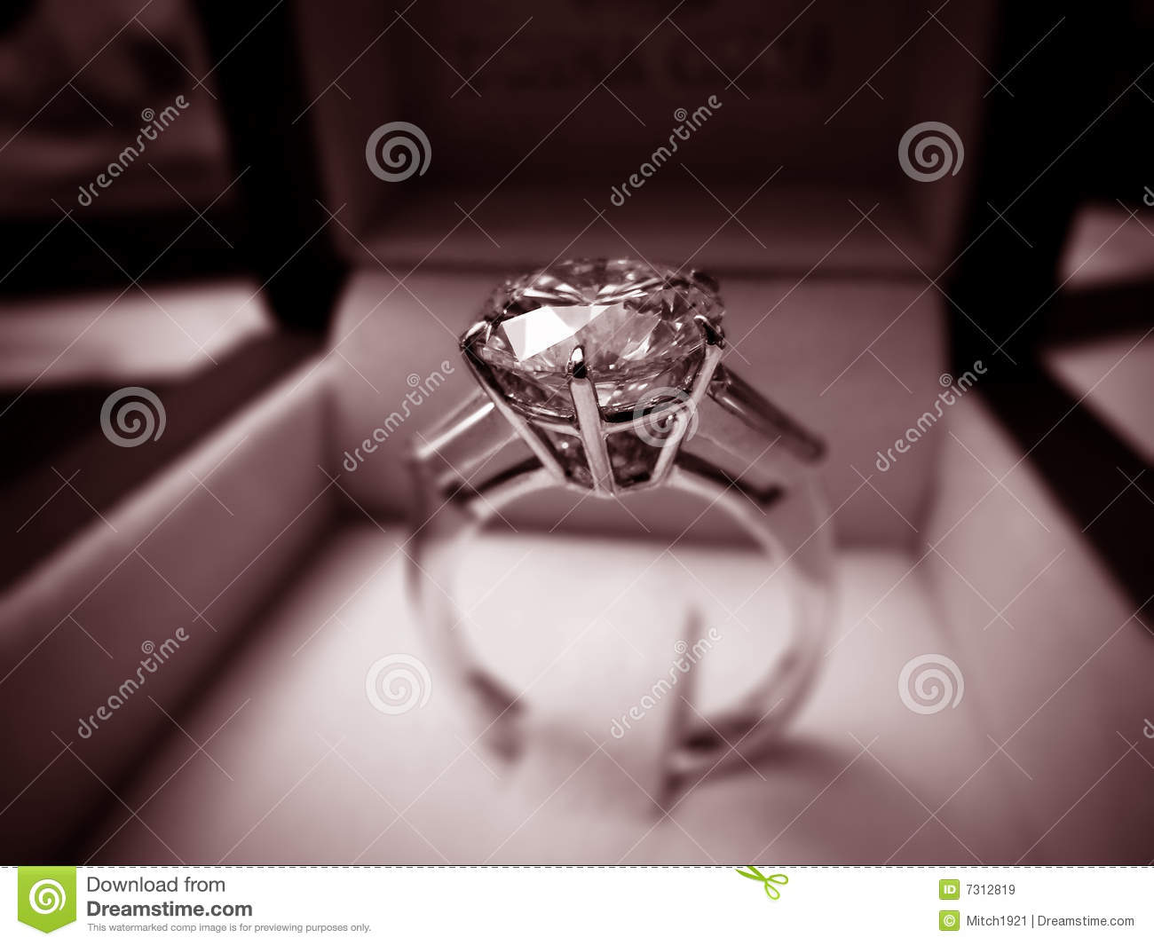Download Diamond Ring stock image. Image of first, luxurious, pure - 7312819