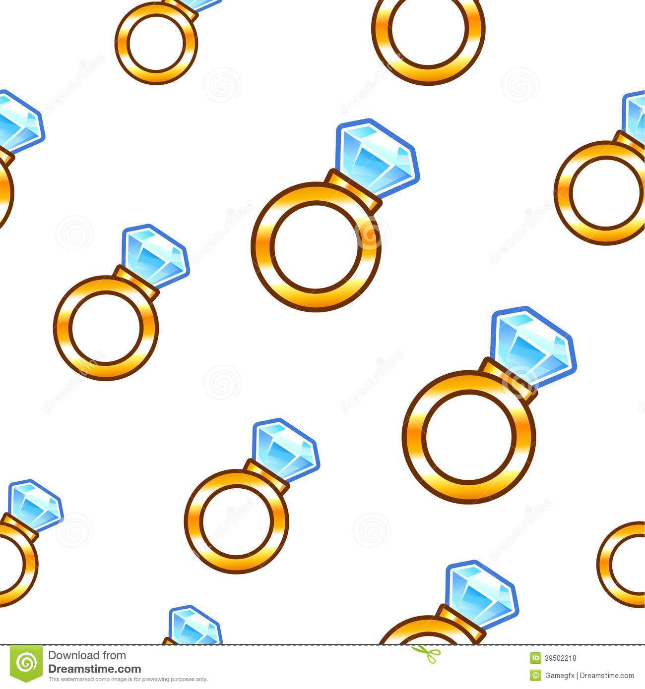 Diamond ring background