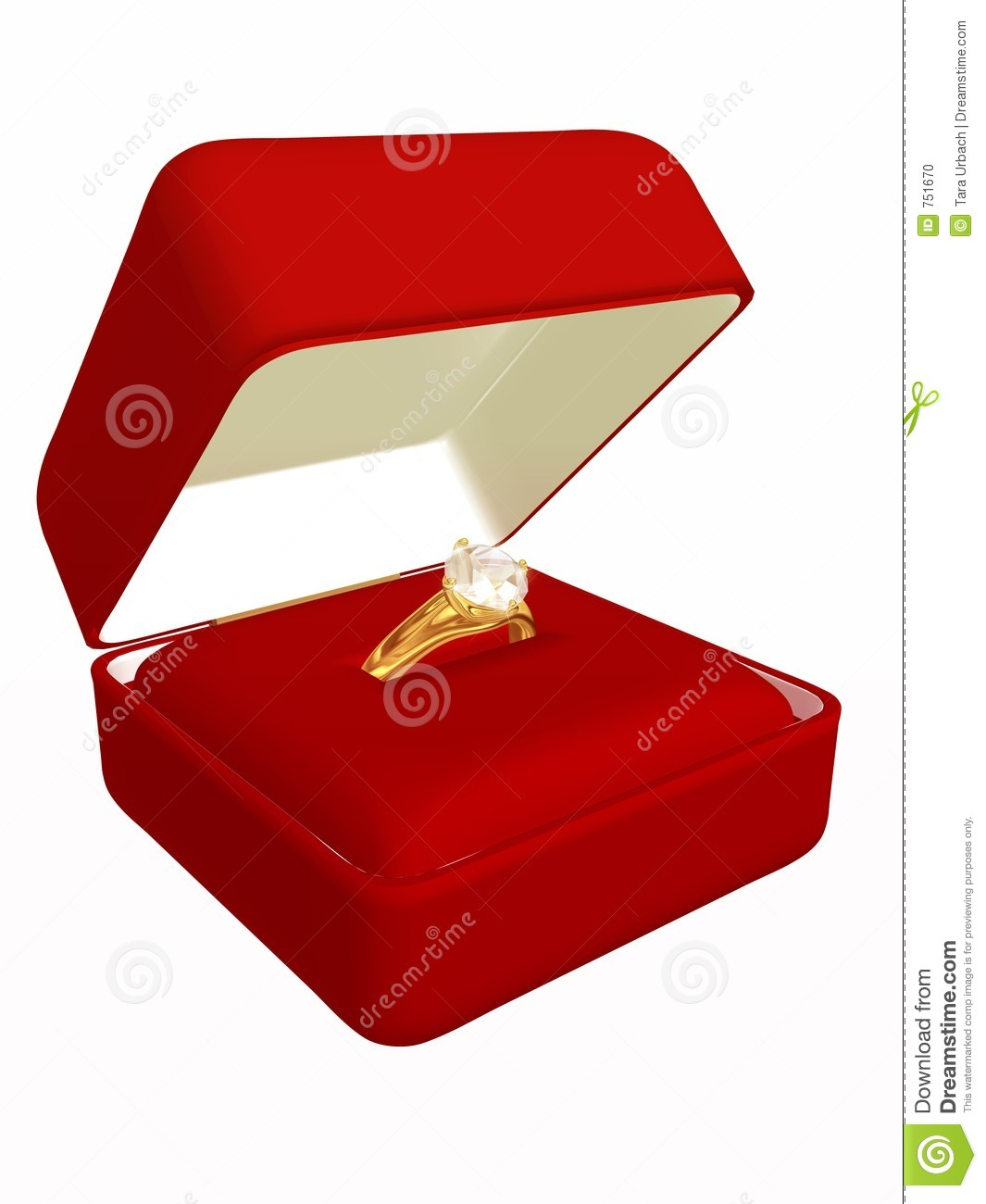 Diamond ring in case stock photo image 751670 for Ring case