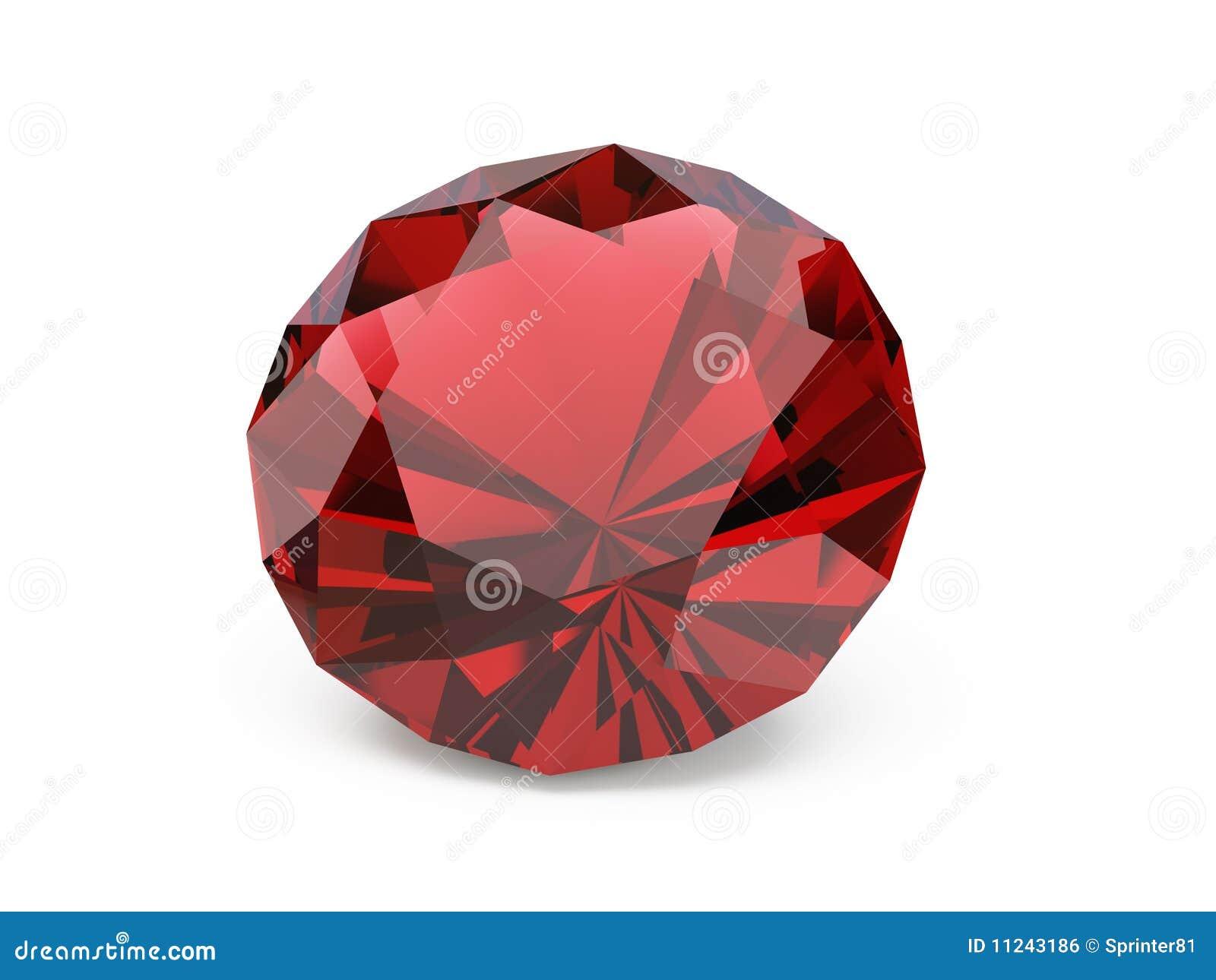 Diamond Ruby Stock Photo Image Of Jewellery Macro