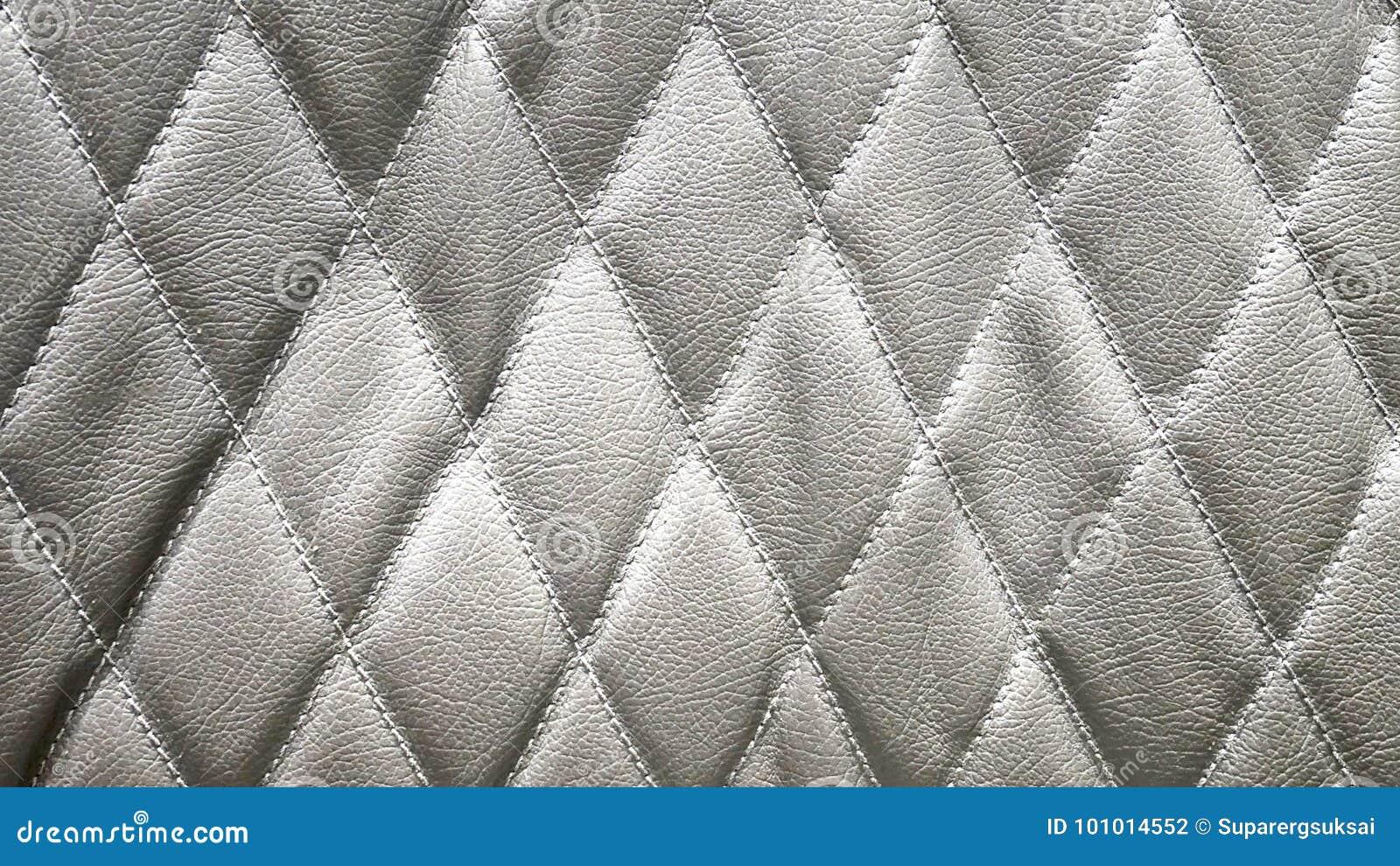 Diamond Shape Leather Pattern