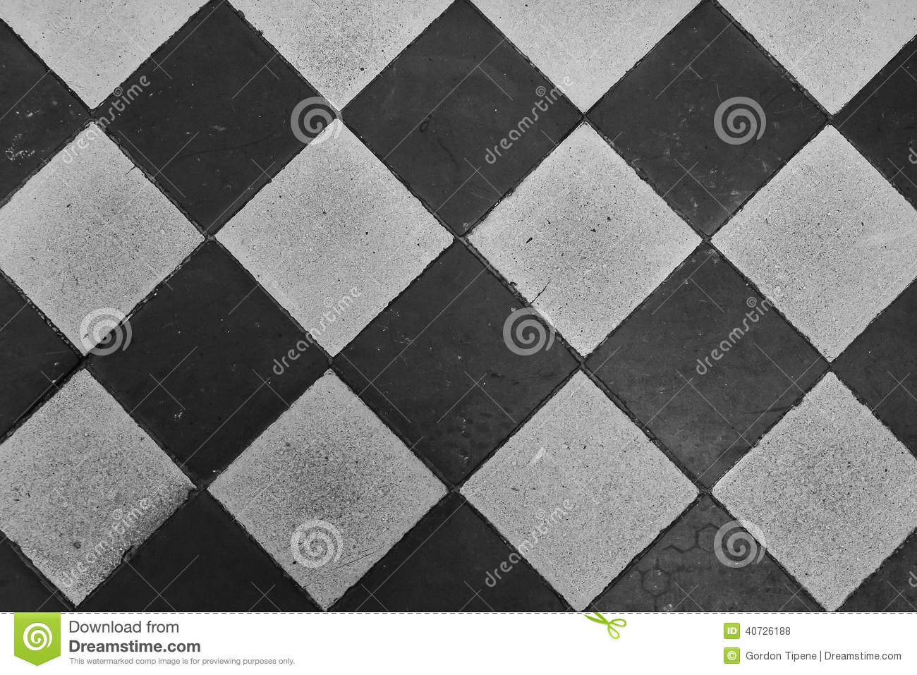 Diamond Square Tile Repeat Pattern Stock Photo Image Of White