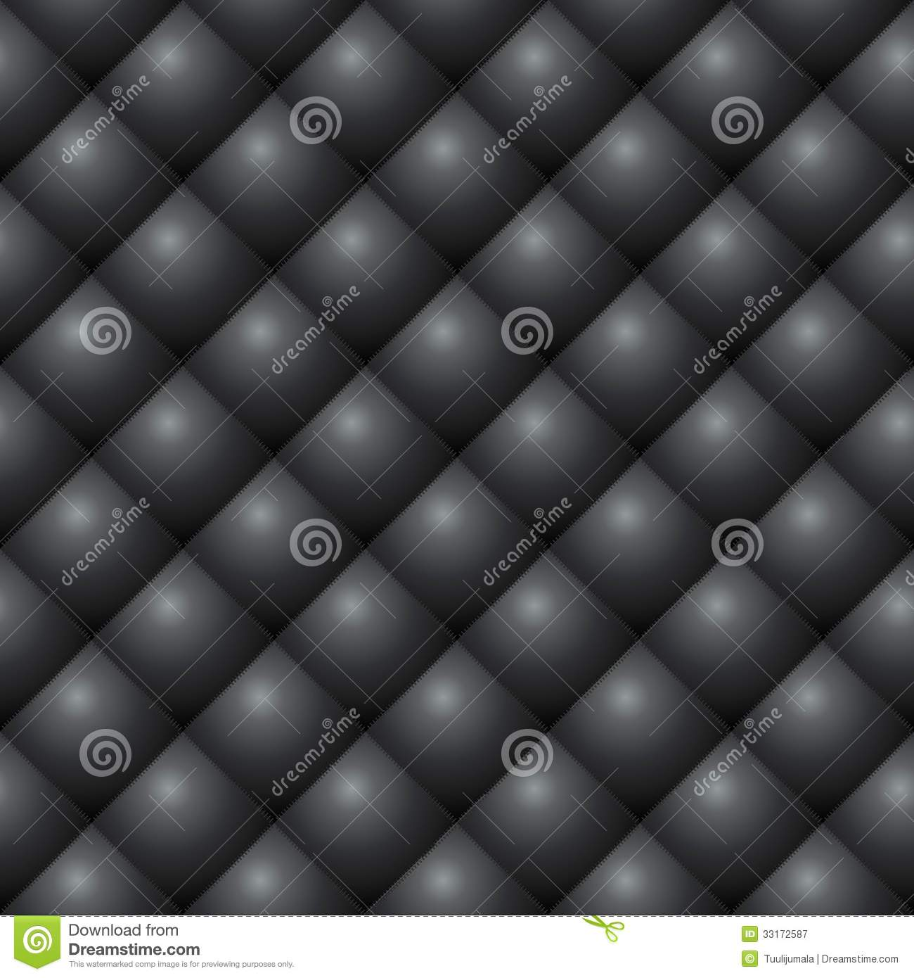 Diamond Stitched Leather Texture Royalty Free Stock