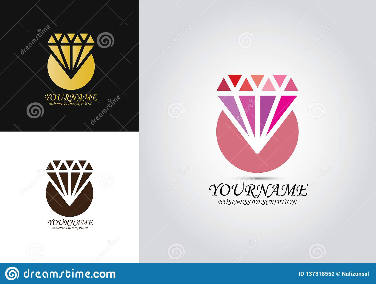 Diamond Template Design Logo