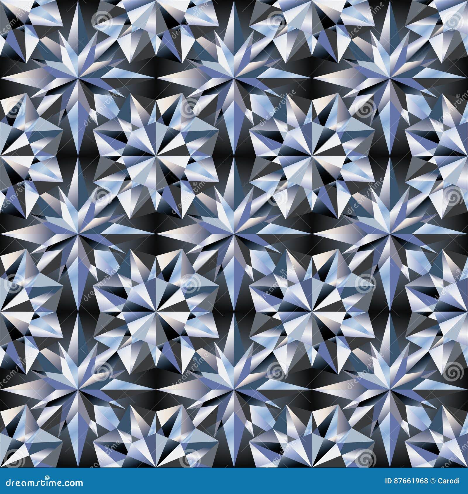 diamond texture seamless vector stock vector image