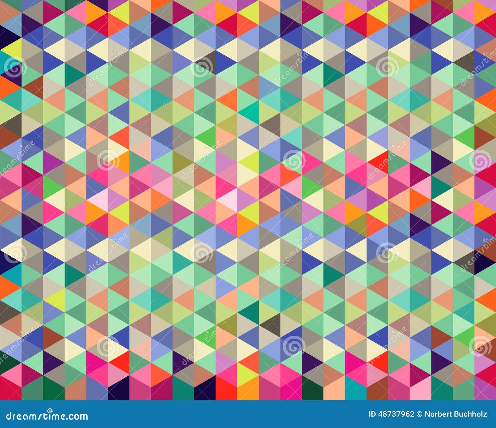 Diamond and Triangle Background Pattern
