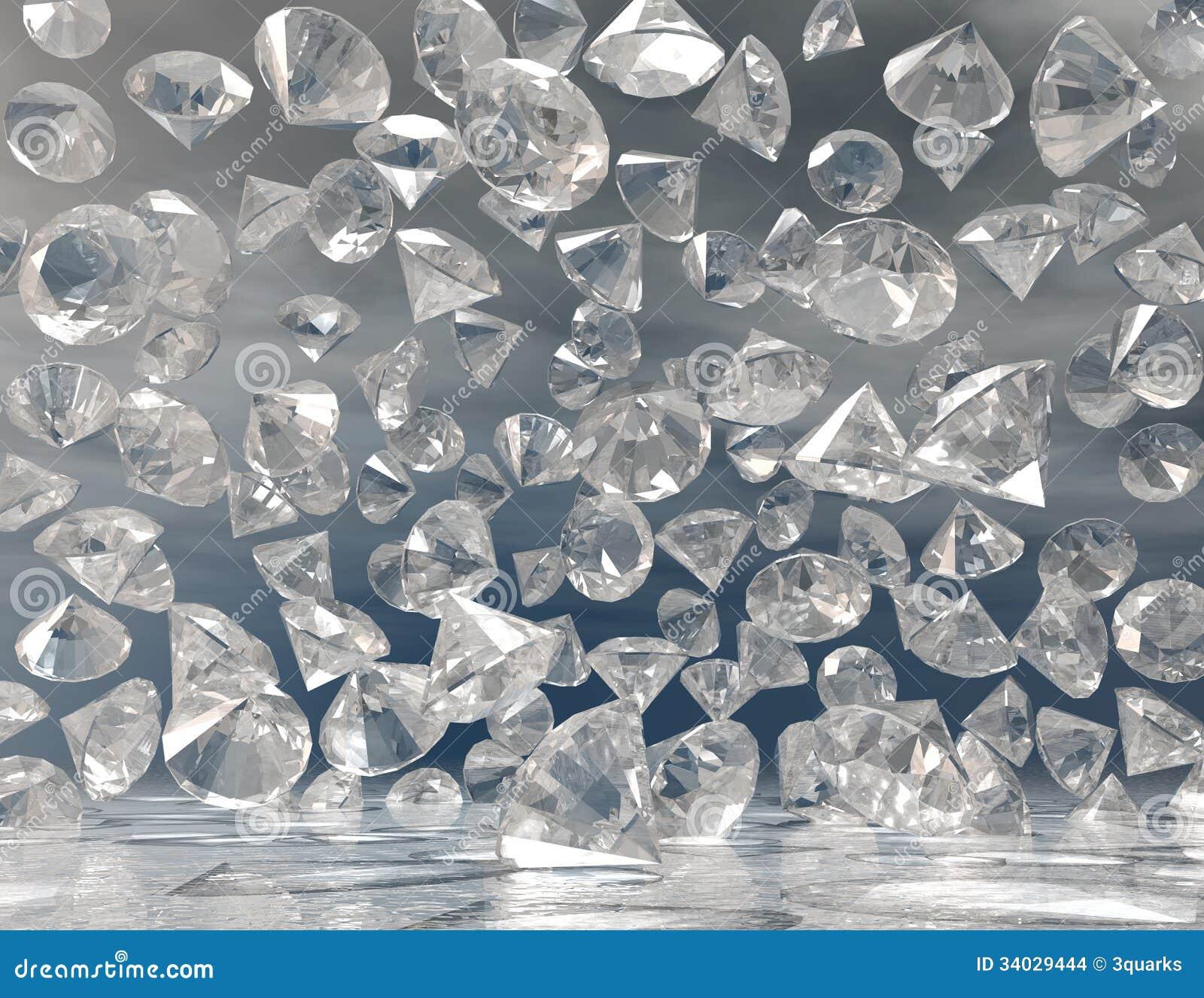 Download Diamonds stock illustration. Illustration of brillants - 34029444