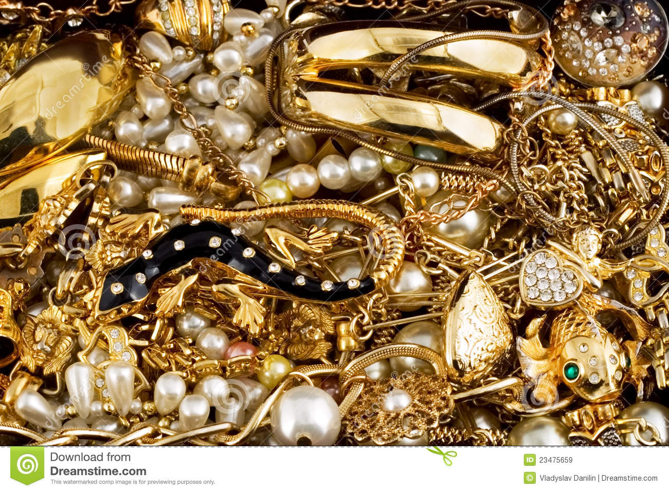 diamonds and gold royalty free stock images image 23475659