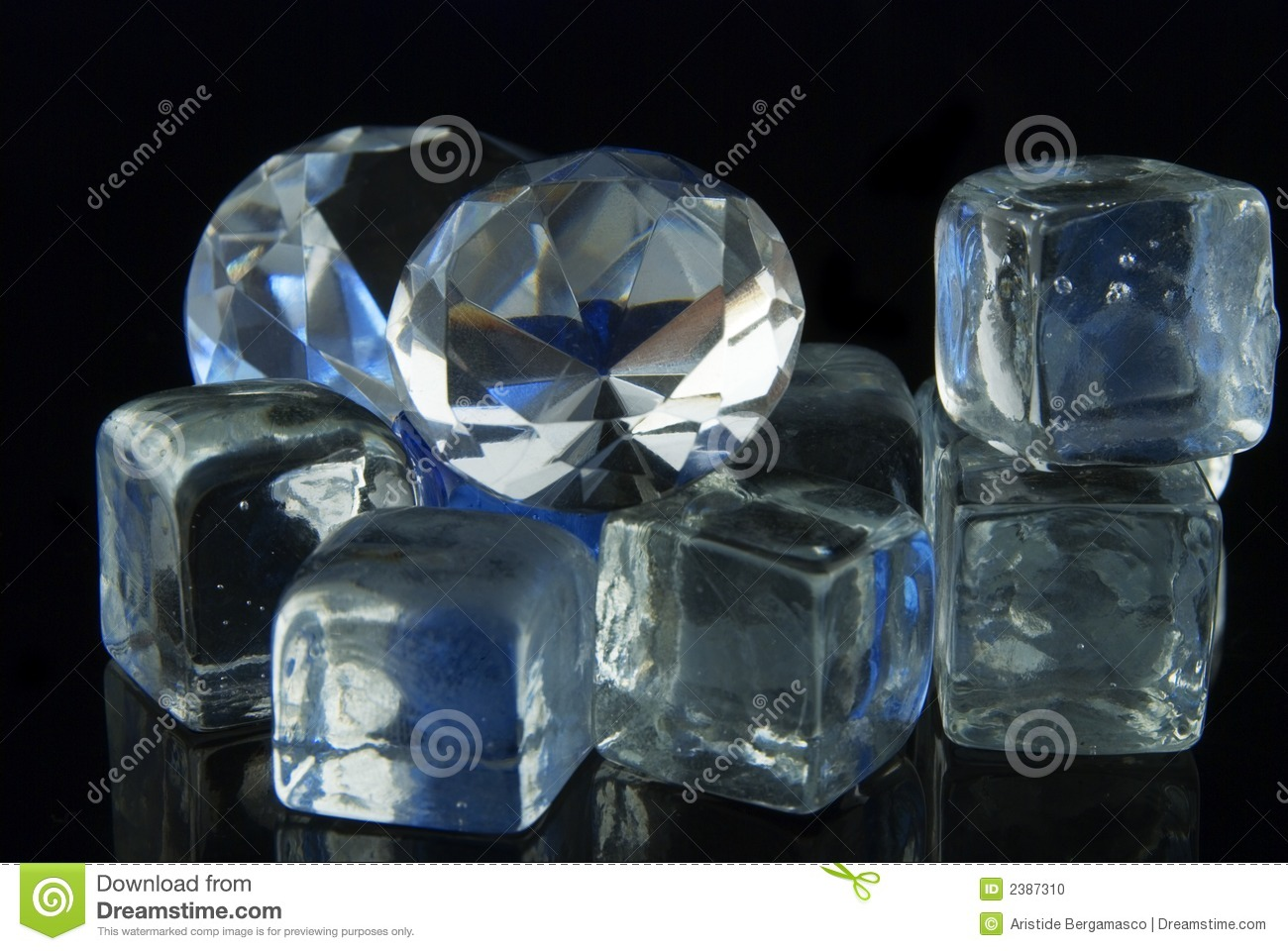 Diamonds and ice