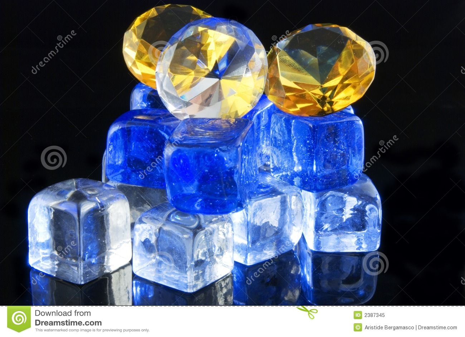Diamonds and ice