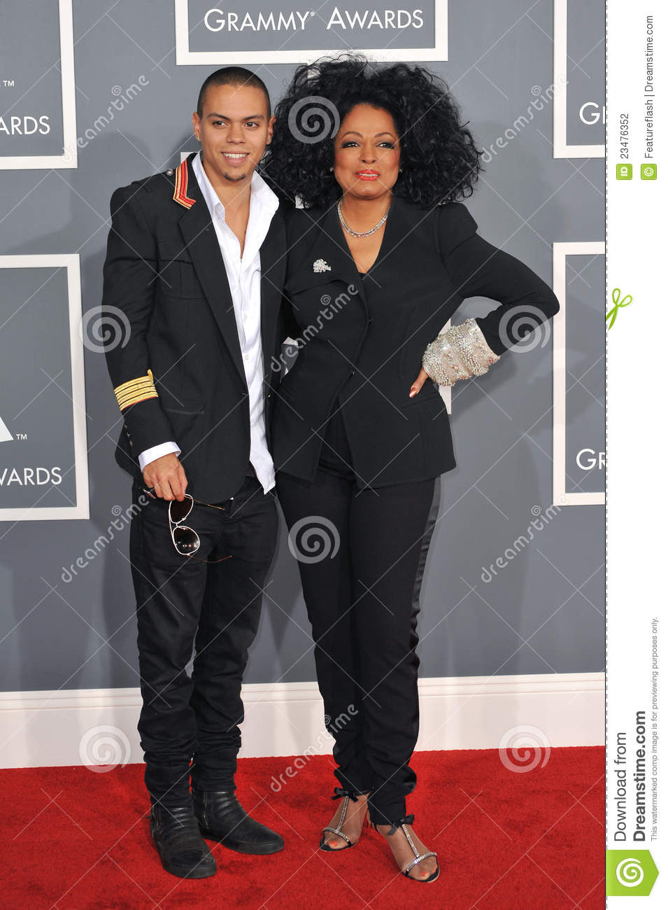 Diana Ross, Evan Ross
