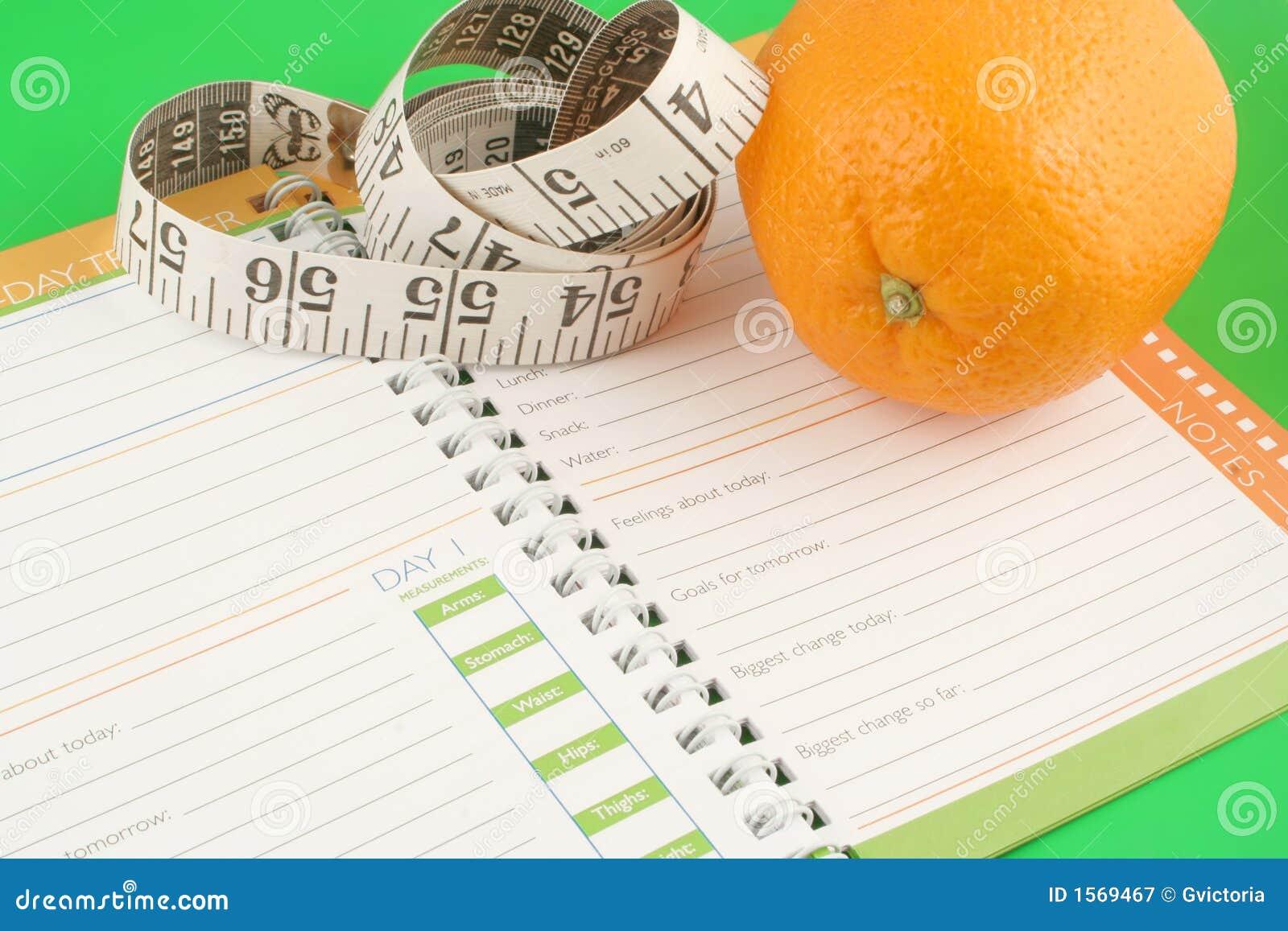 Diario de la dieta