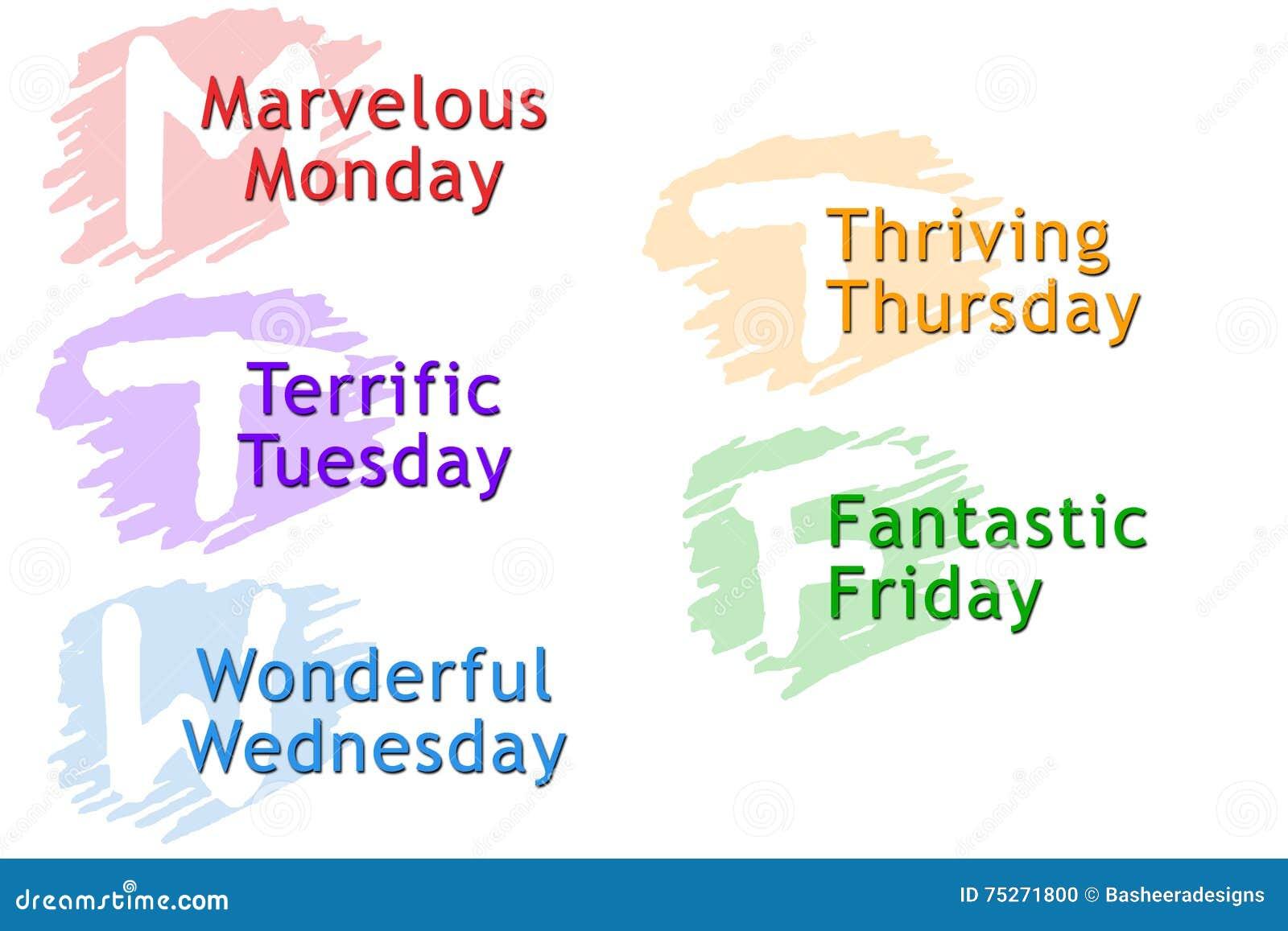 Dias da semana