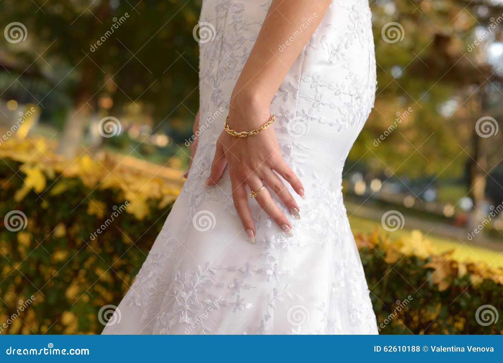 Dias do outono no casamento conservado em estoque
