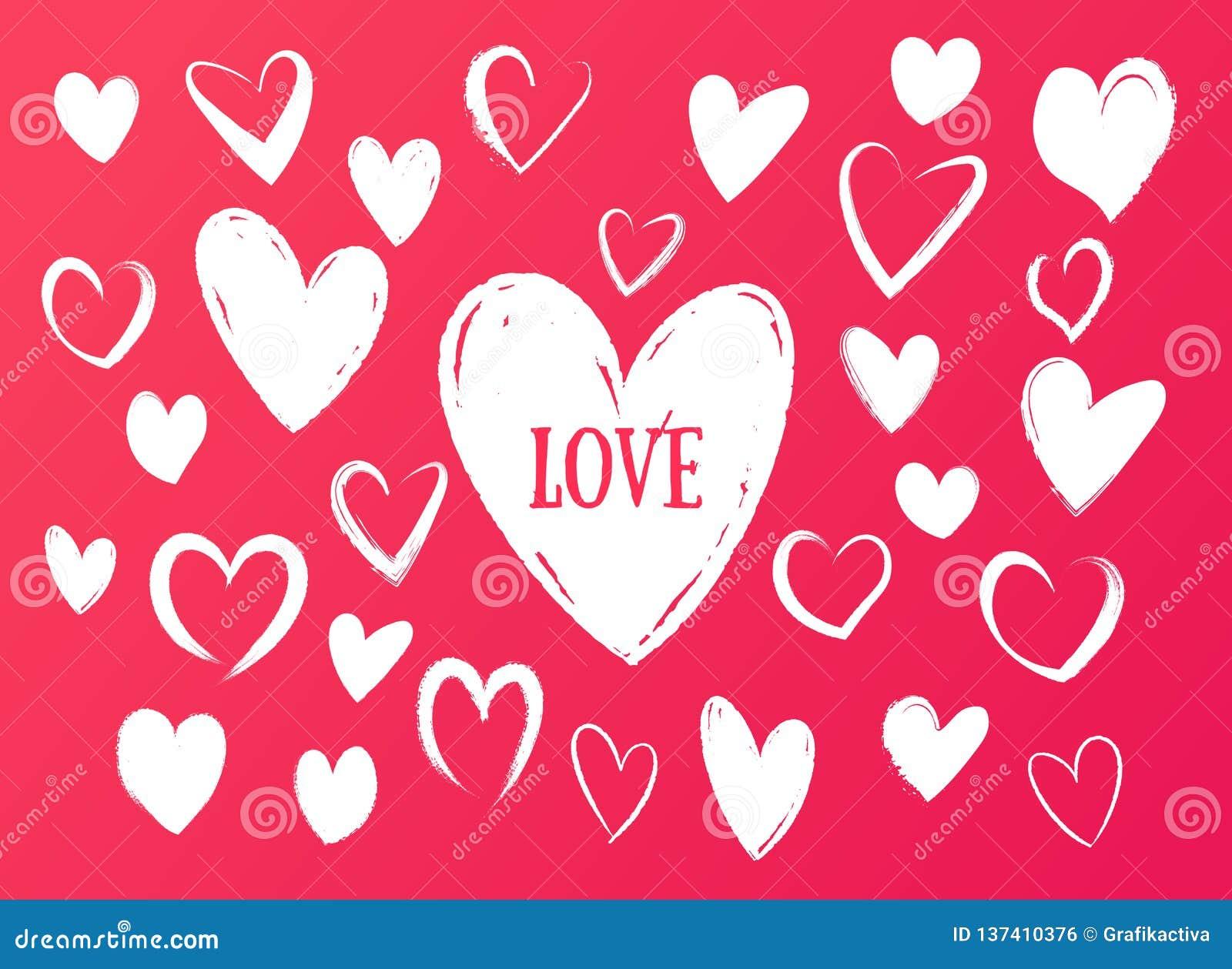 Dibujos De Corazones De Amor A Lapiz Corazones De Amor A Lápiz