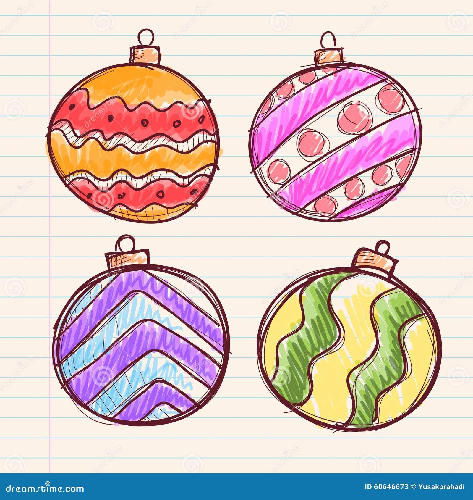 Bolas de navidad de papel decoracin navidea adornos para for Dibujo bola navidad