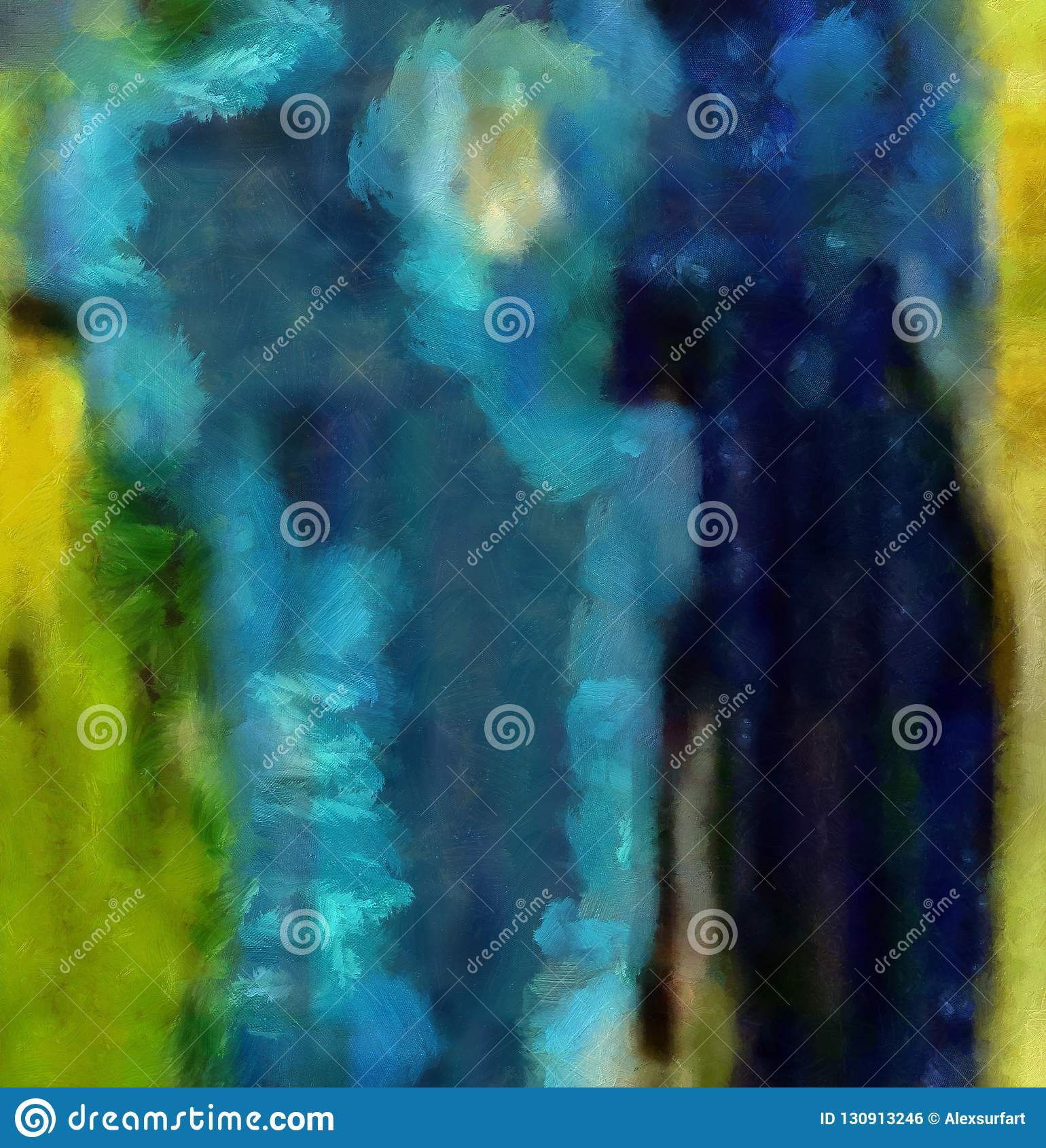 Dibujo de la mano en la abstracción del aceite Fondo de la textura de Grunge Modelo del diseño del vintage Papel pintado creativo