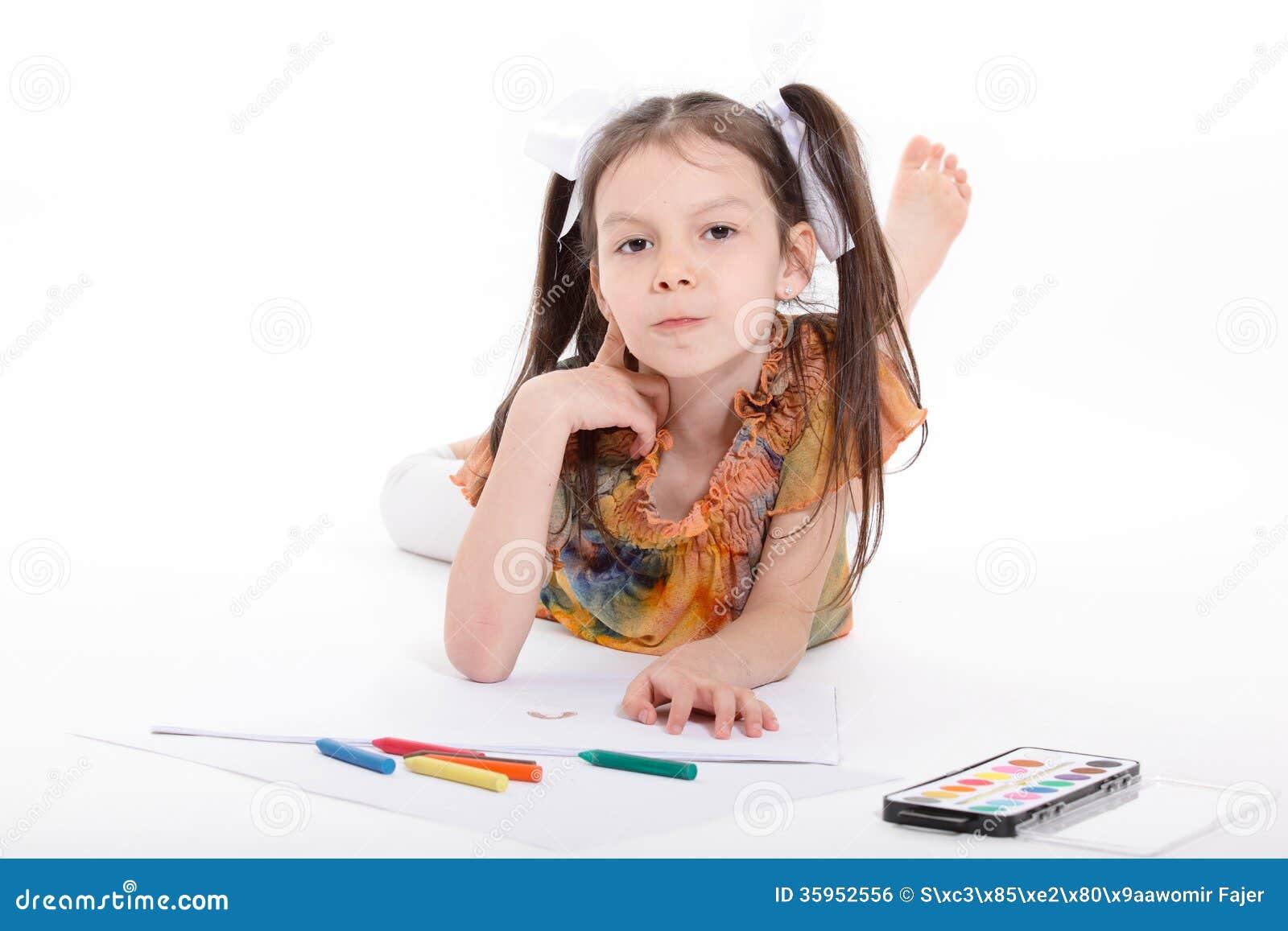 Dibujo de la niña